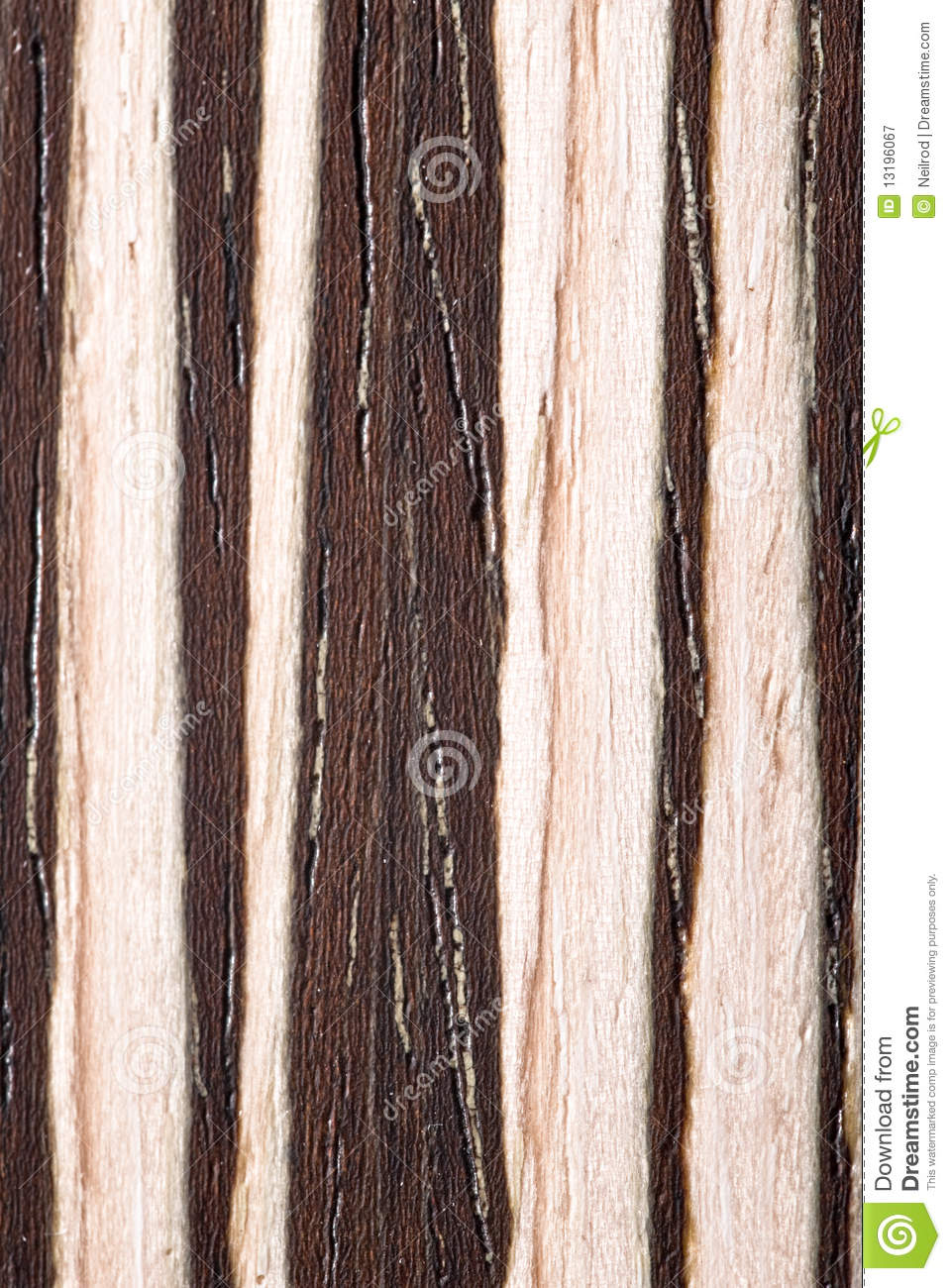 Natural Zebrano Veneer Royalty Free Stock Photography - Image ...