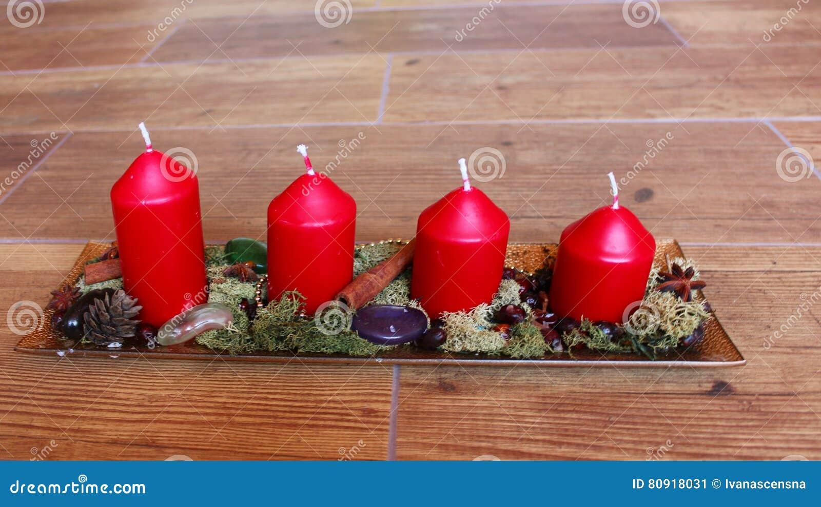 Naturalna Boże Narodzenie Dekoracja Obraz Stock Obraz