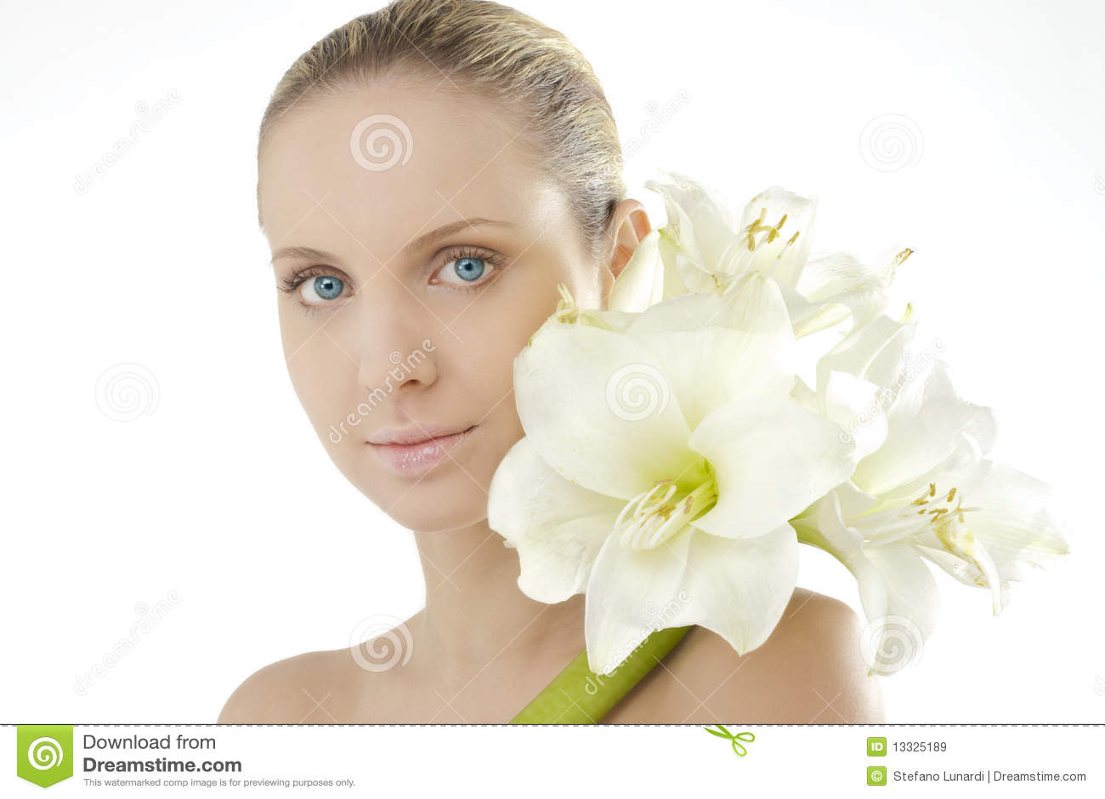 Naturalny amarylka piękno