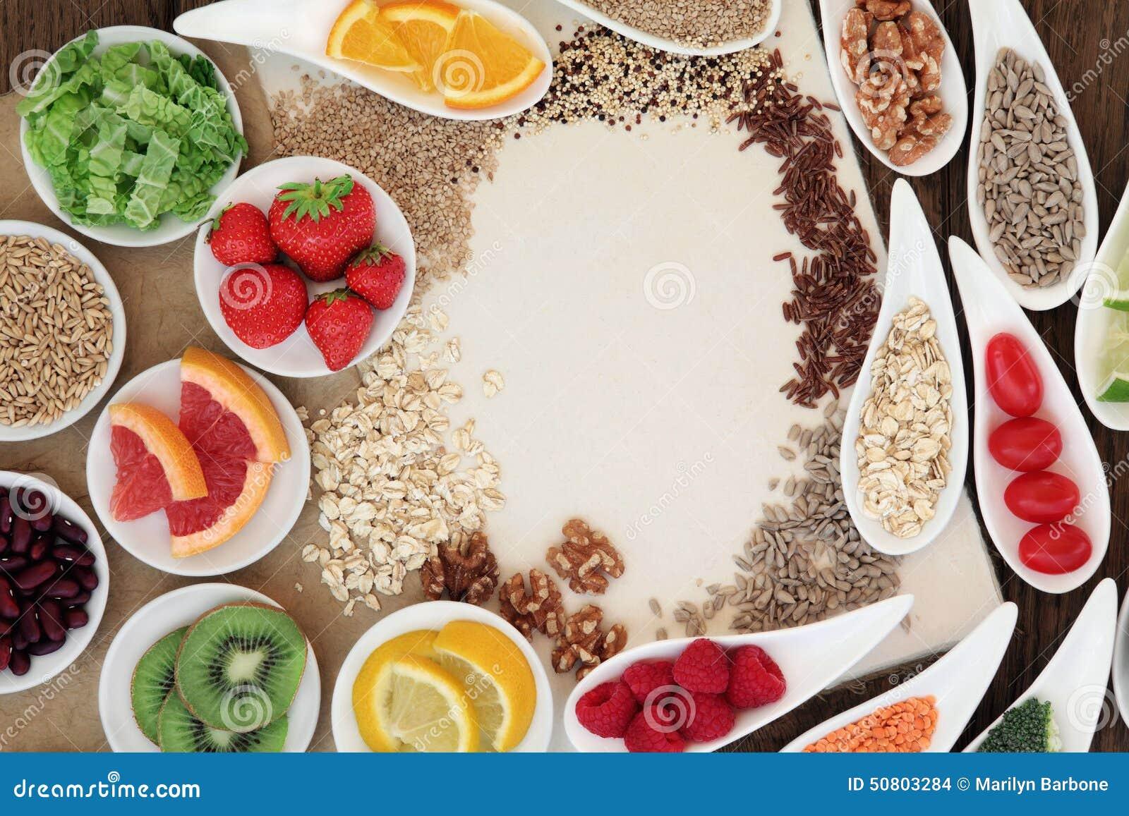 Naturalny zdrowia jedzenie