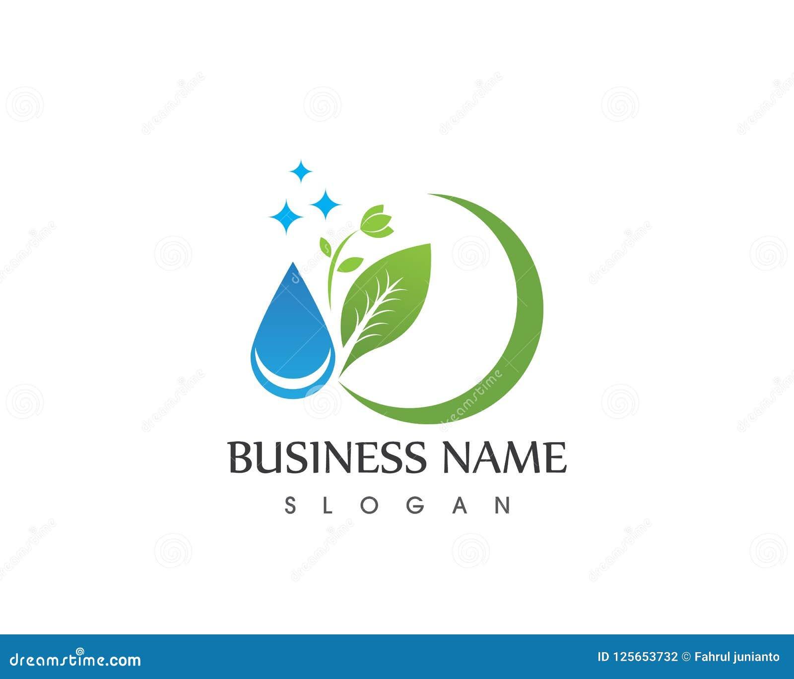 Naturbetriebsblattikonen-Logovektor
