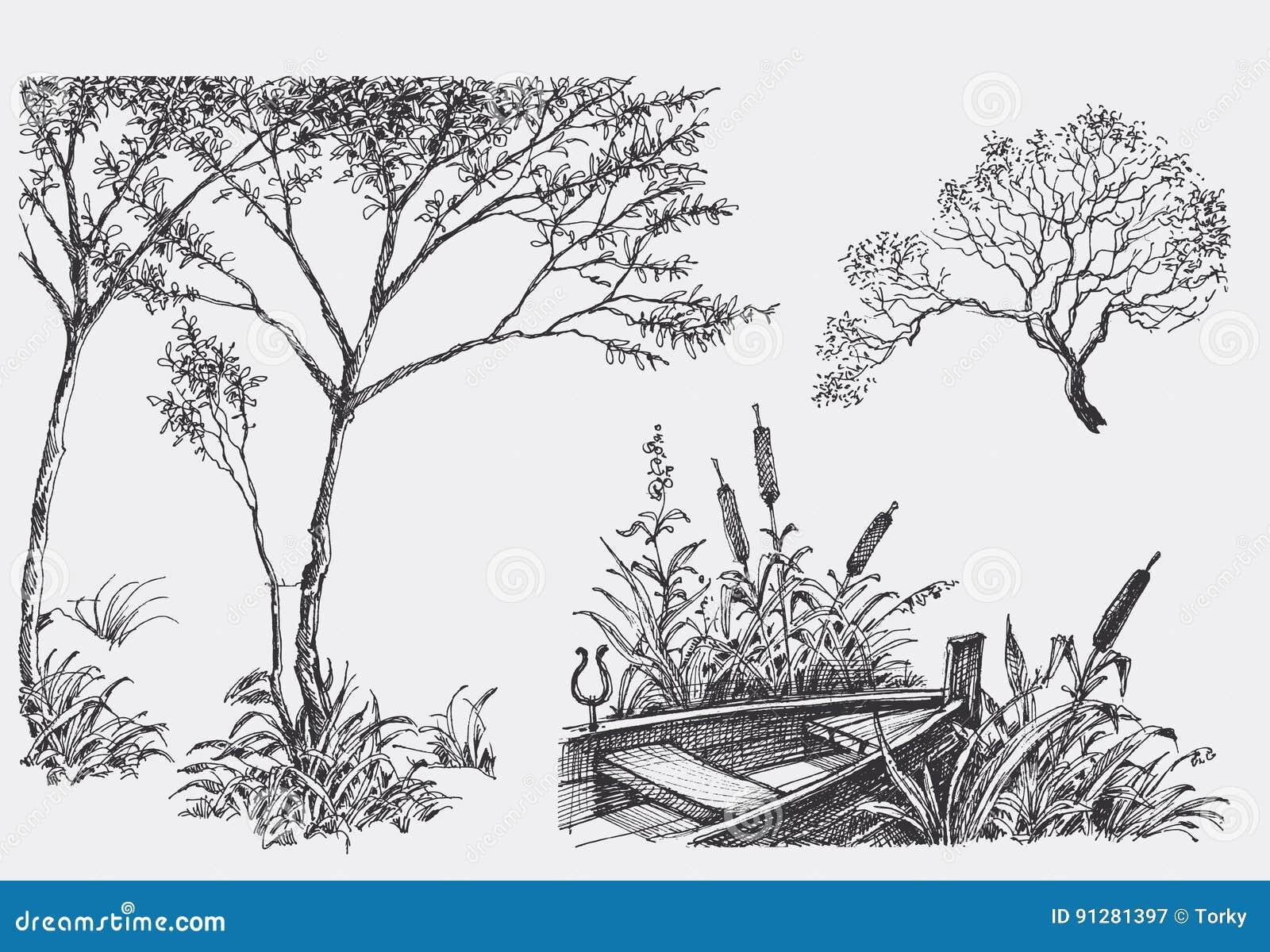 Naturdesignbeståndsdelar