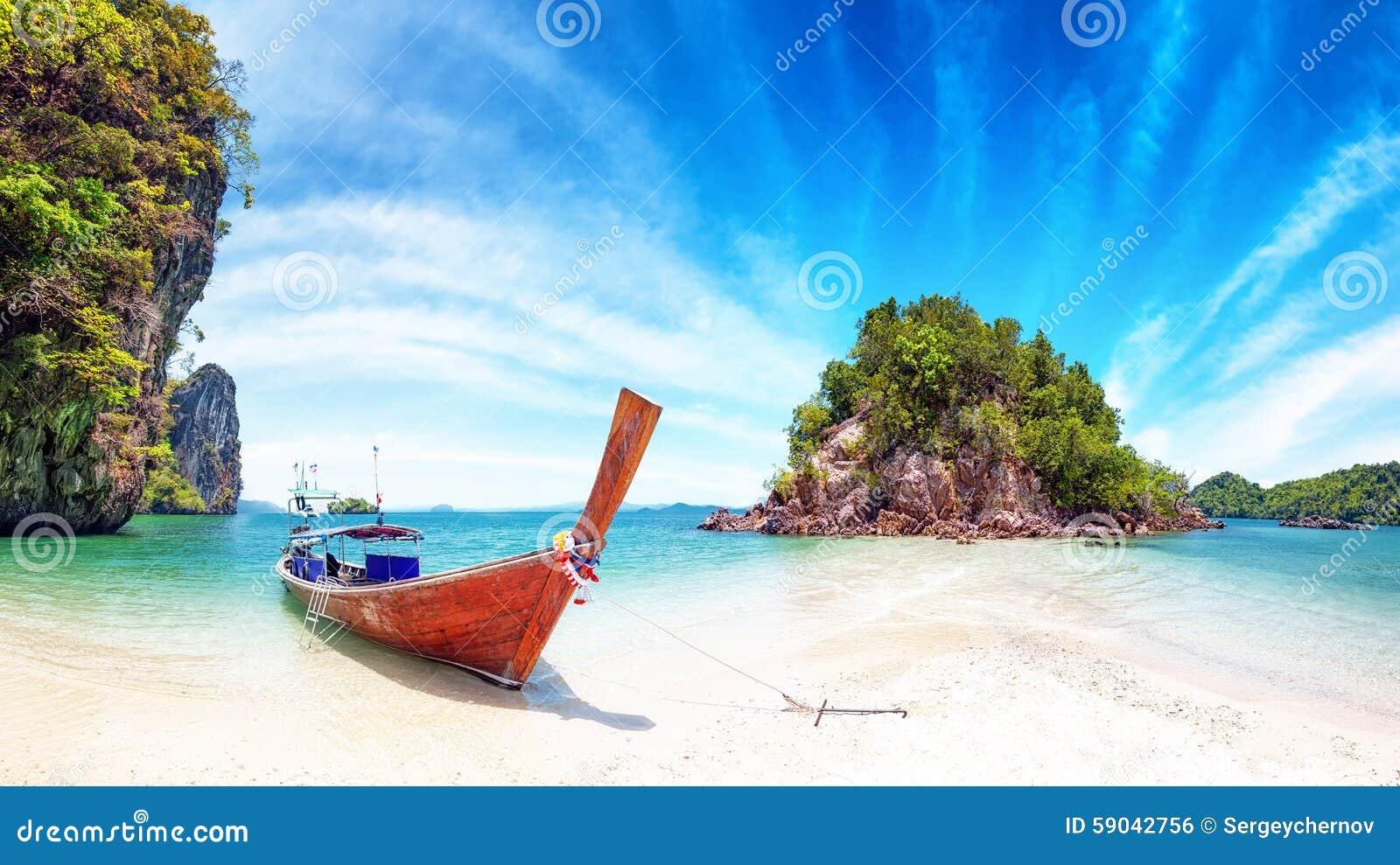 Nature étonnante et destination exotique de voyage en Thaïlande