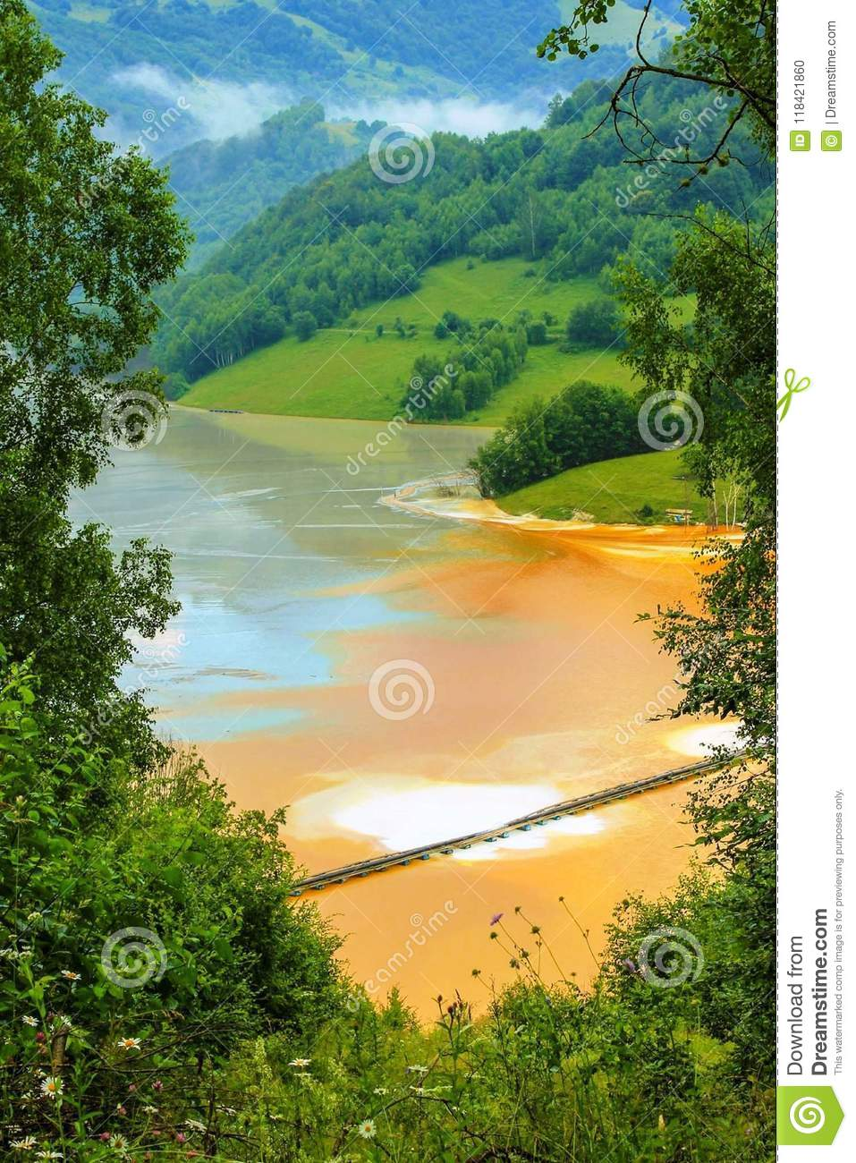 Nature Is The Art Of God Transylvania Stock Photo Image Of