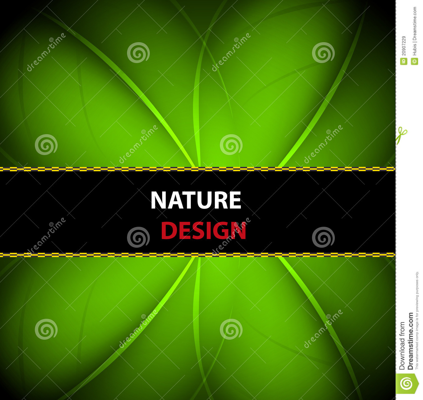 Nature Banner Background Design Royalty Free Stock Images - Image ...