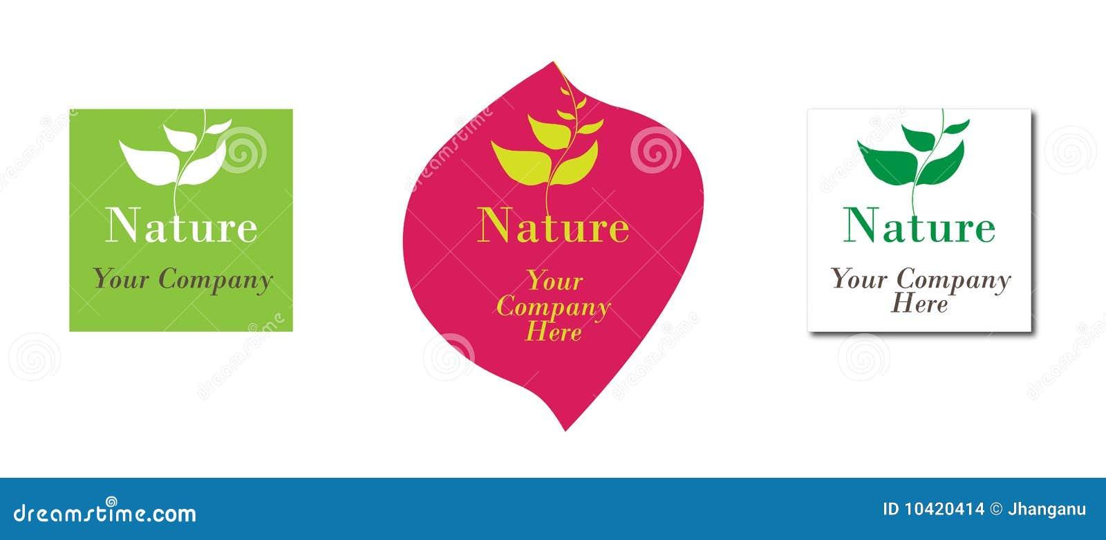 Nature ecology logo