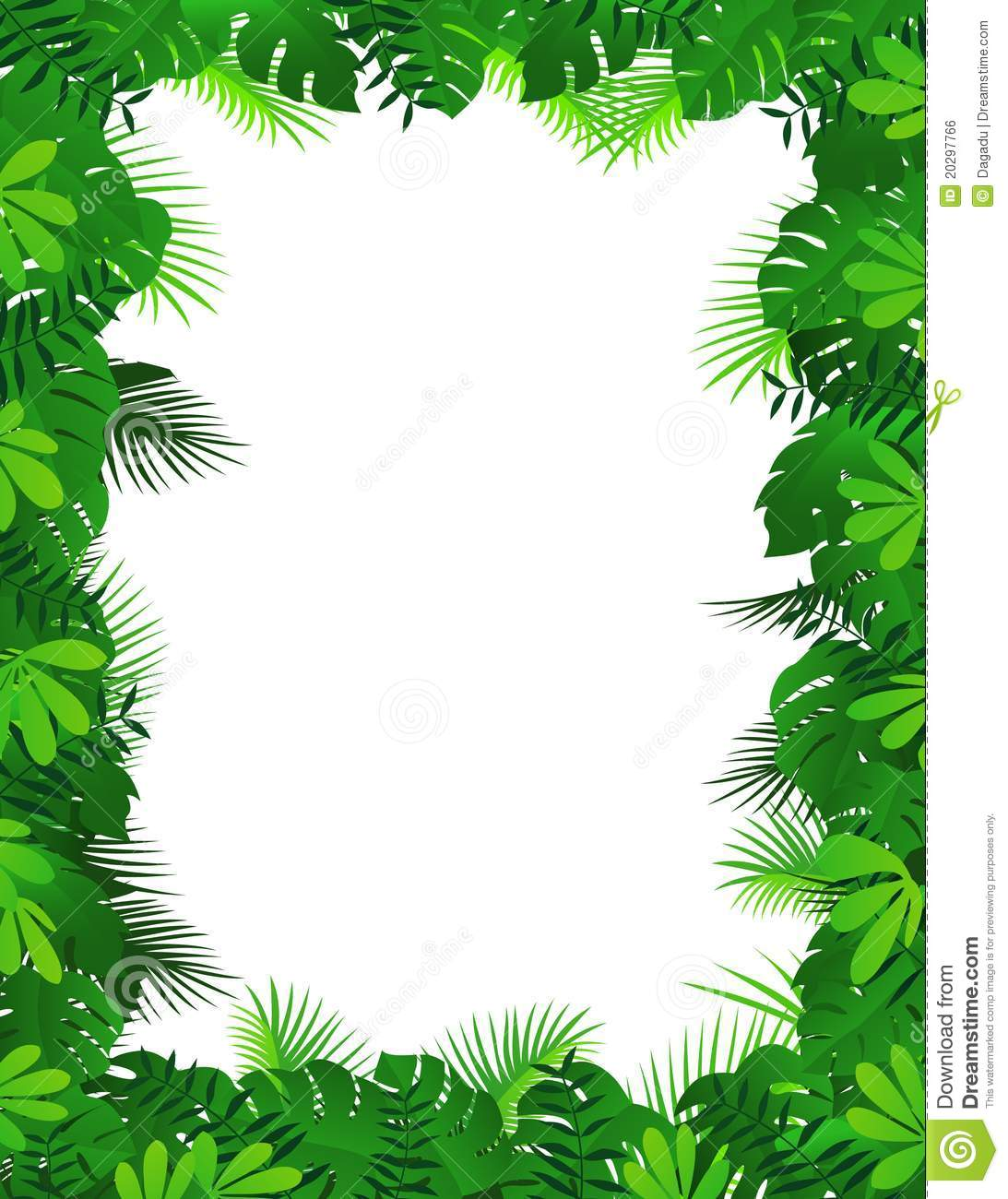 Forest Border Clipart
