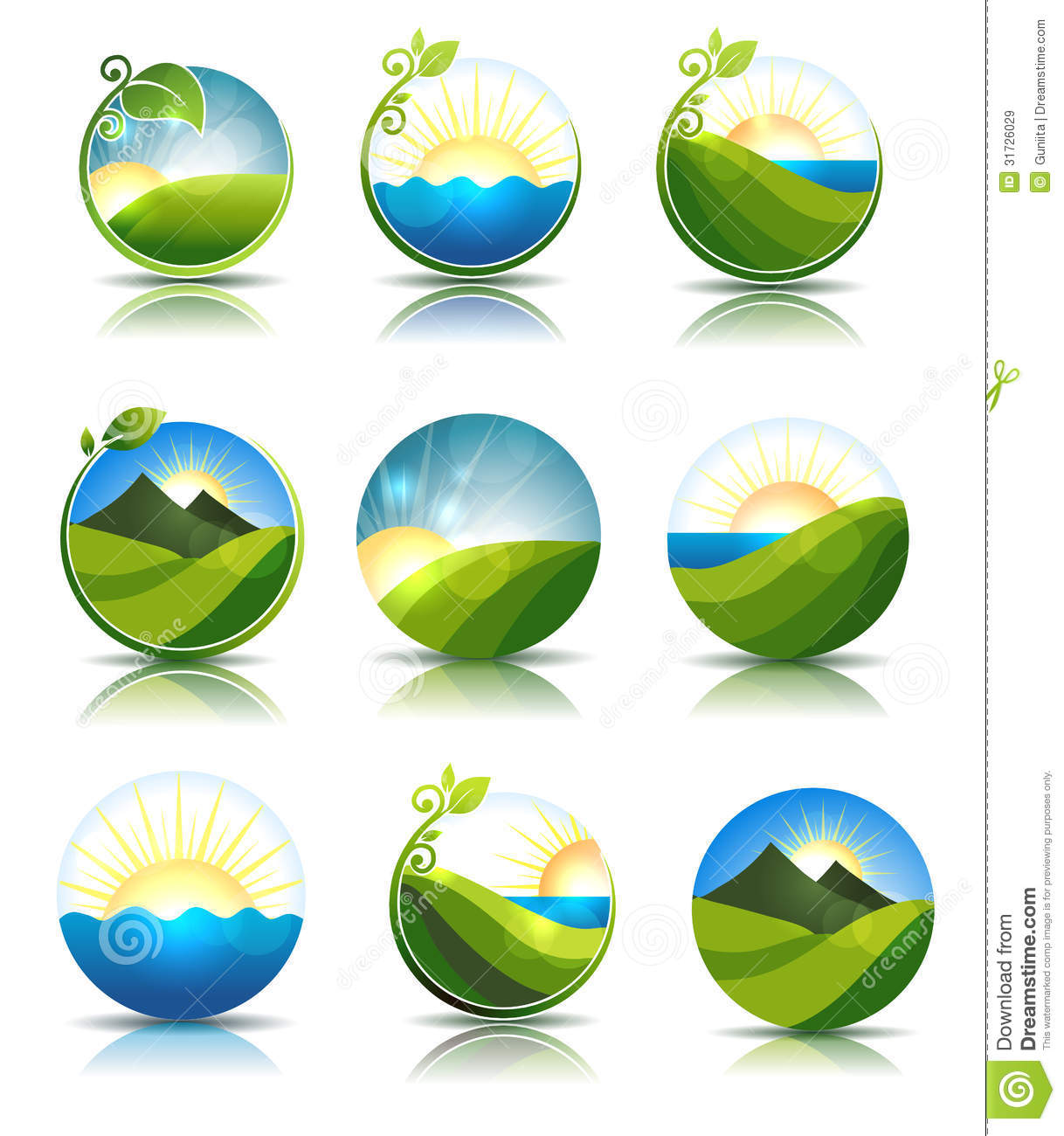 lake sunset clip art