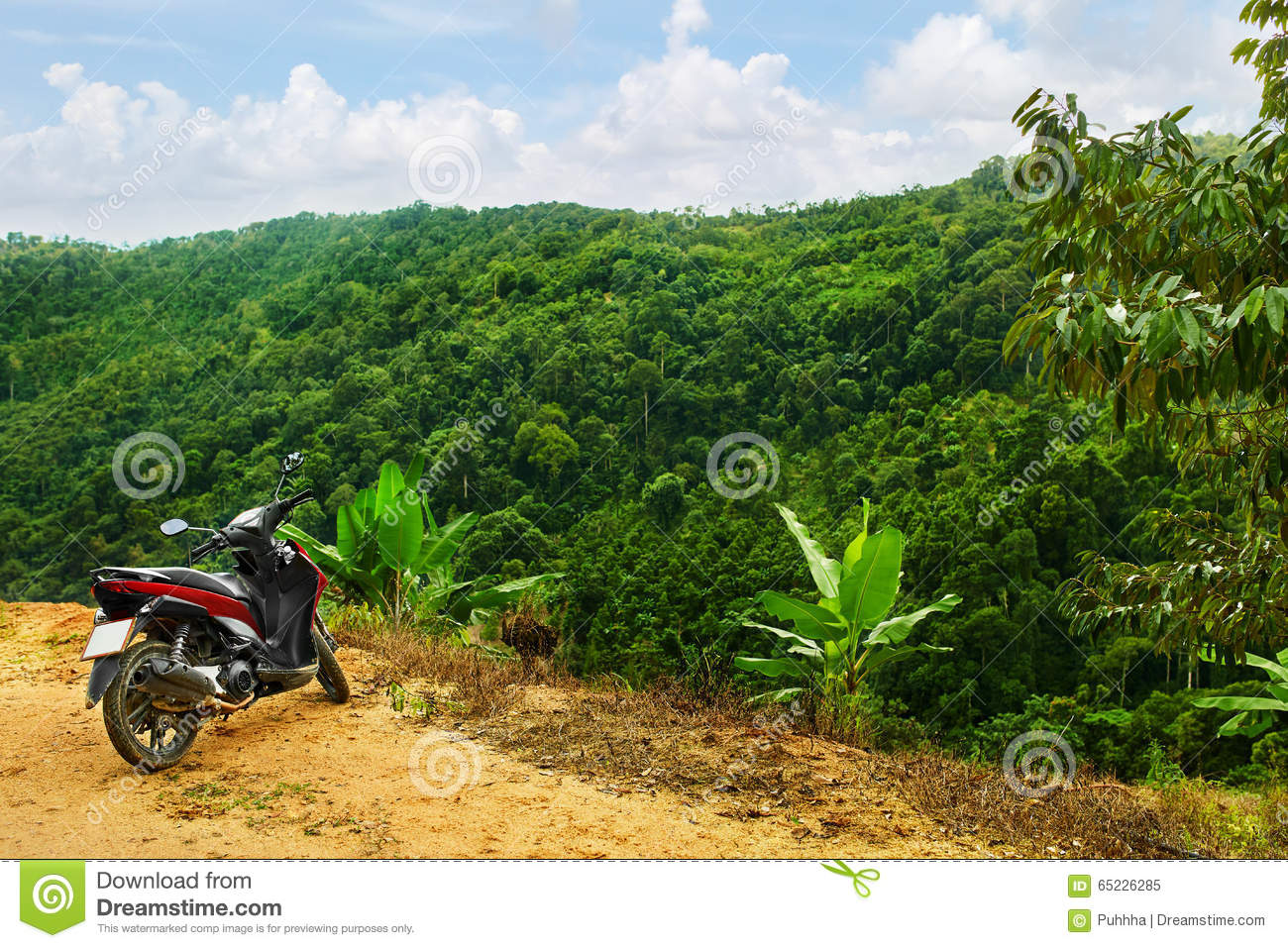 nature background. landscape of green hills. scenery. thailand