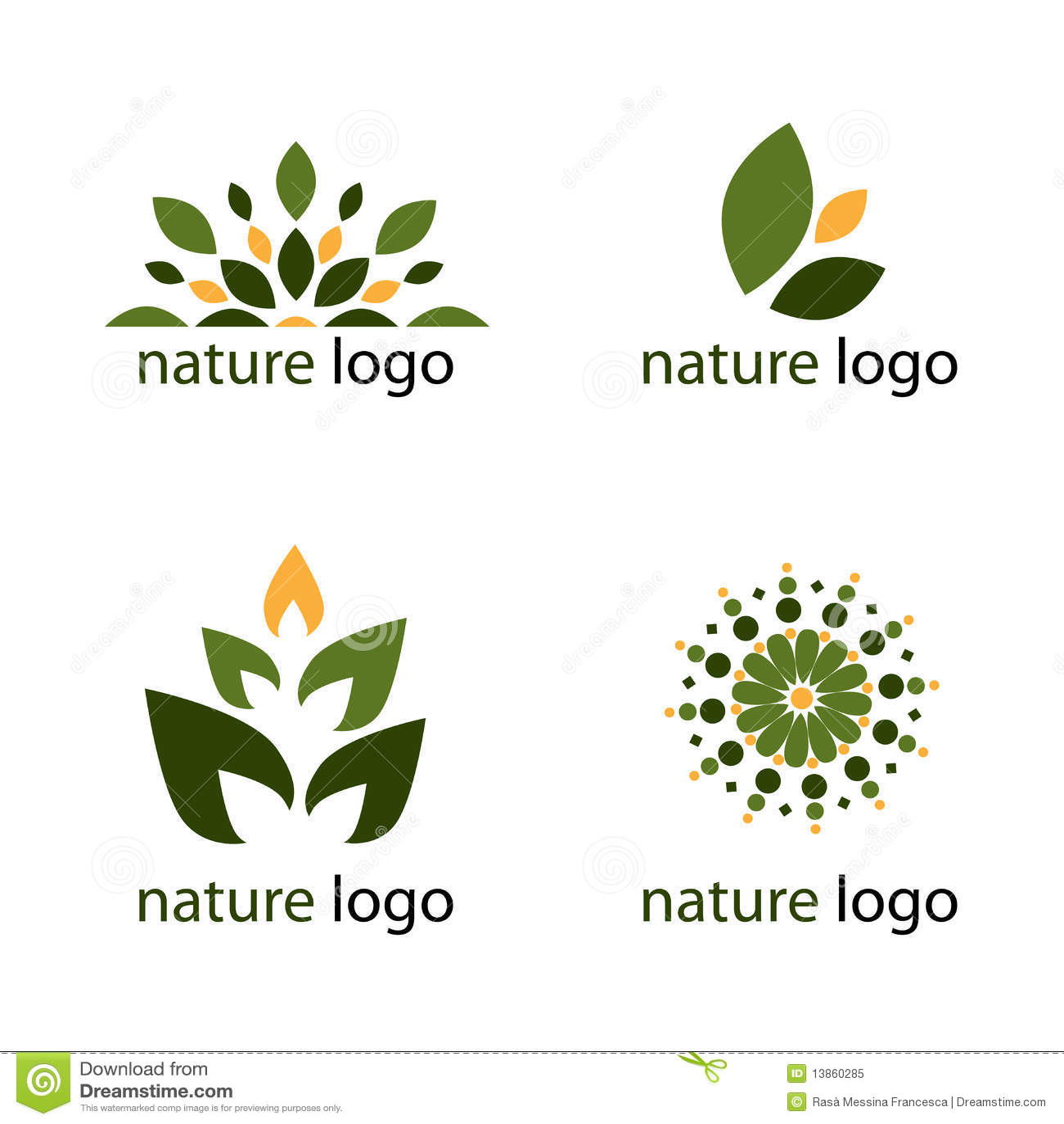 Download Nature logos stock vector. Illustration of business, environmental - 13860285