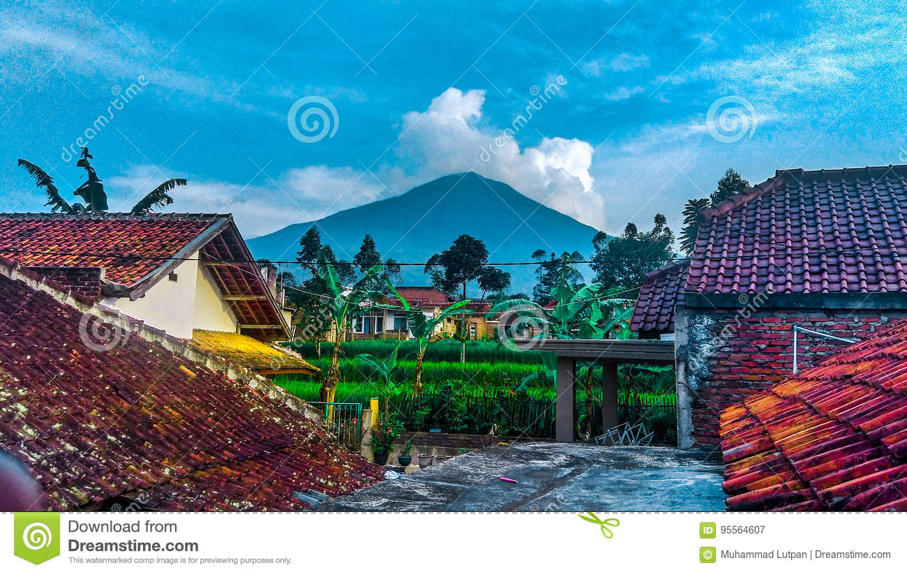 Nature mountain stock image  Image of dormir, anxiety - 95564607