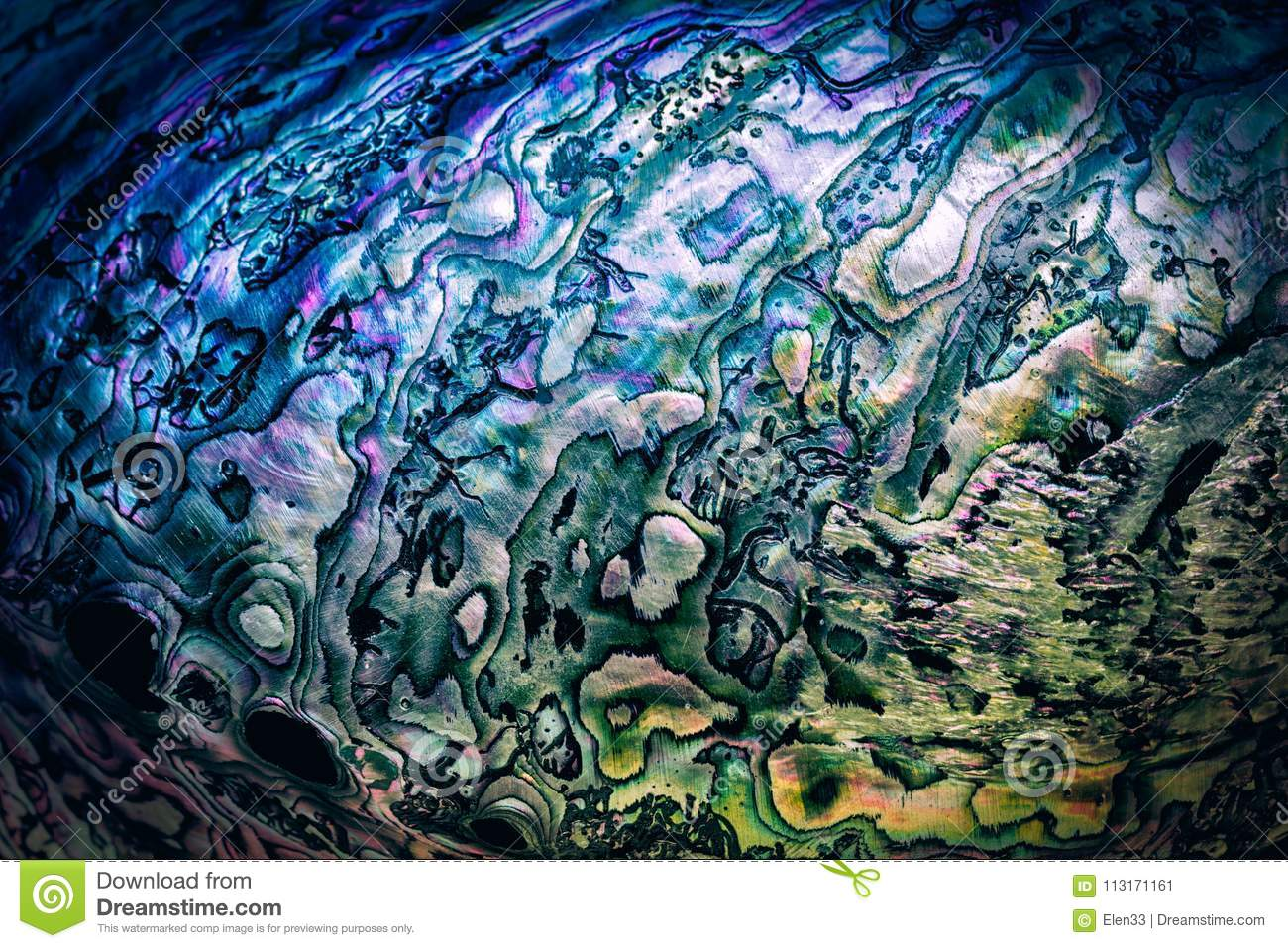 Nature texture pattern of nacre mother-of-pearl
