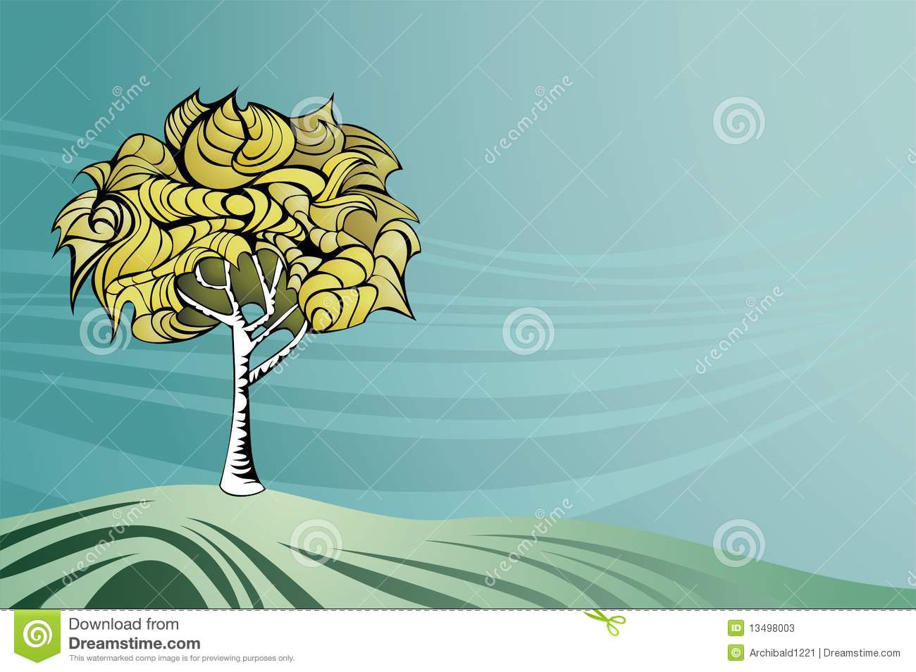 Nature theme background stock vector illustration of for Ideanature