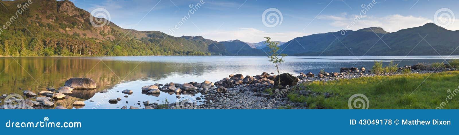 Natureza refletida, distrito do lago, Reino Unido