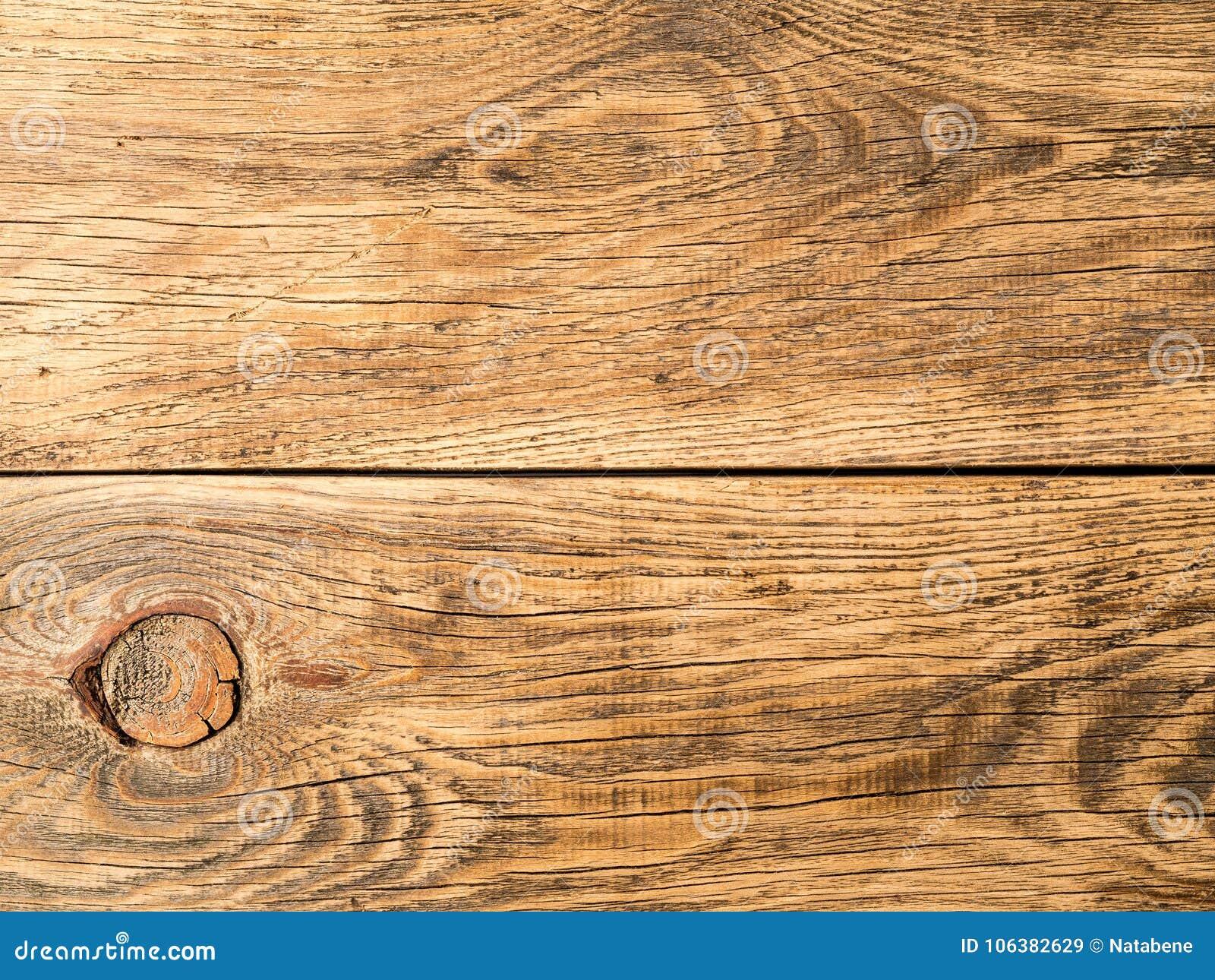 Naturlig lantlig wood bakgrund med sörjer trä, struktur av trä
