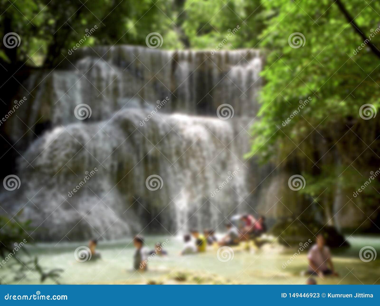Naturliga dragningar f?r Thailand vattenfall