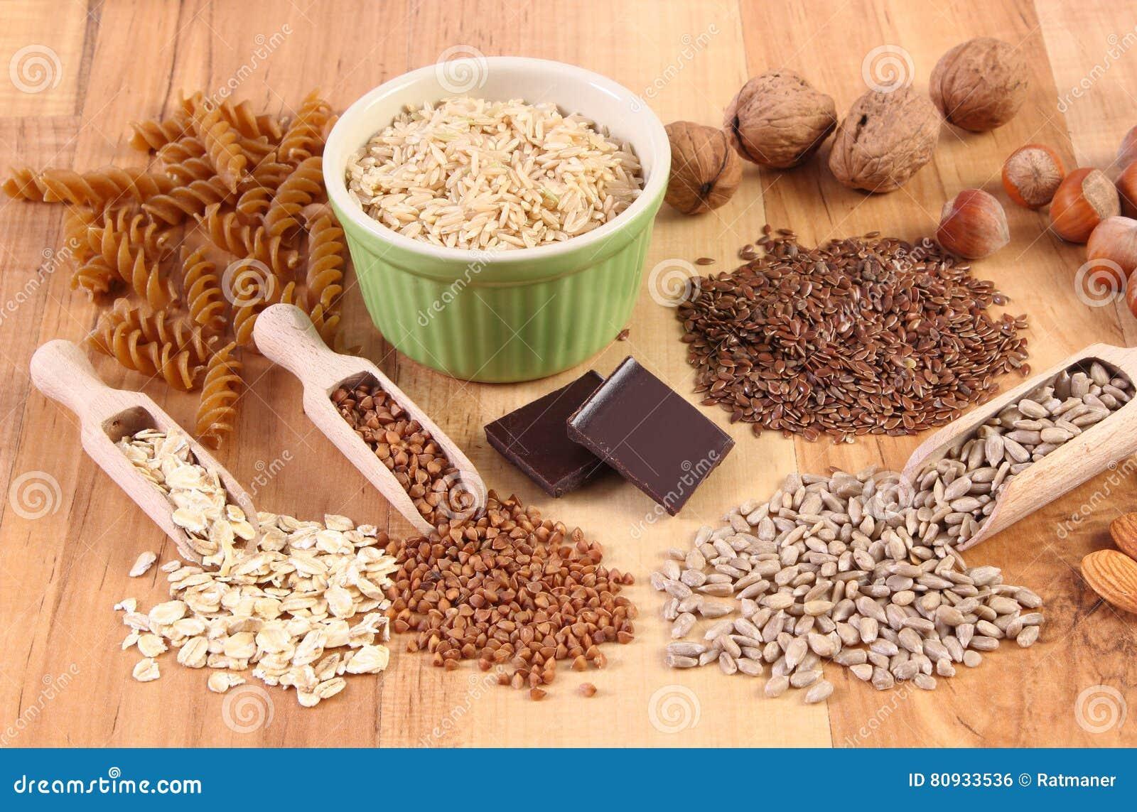mat som innehåller magnesium