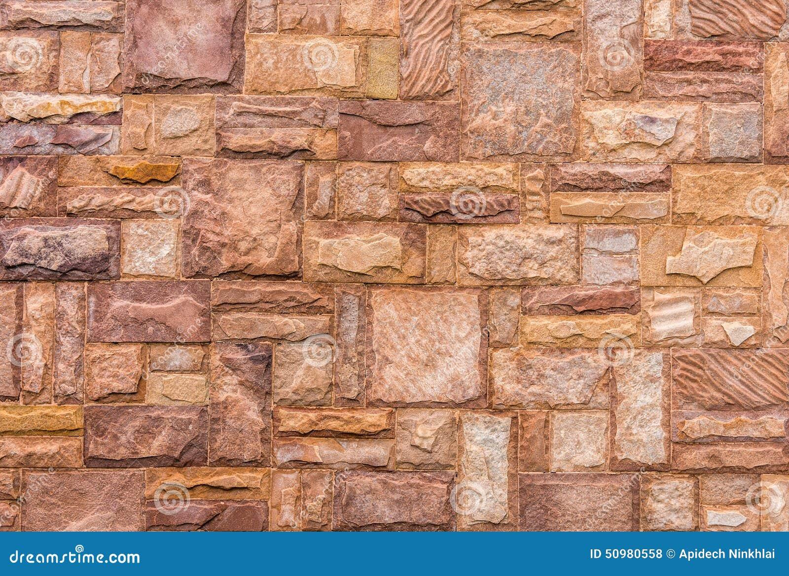 Download Naturstein Deckt Wand Mit Ziegeln Stockfoto   Bild Von Fußboden,  Hintergrund: 50980558
