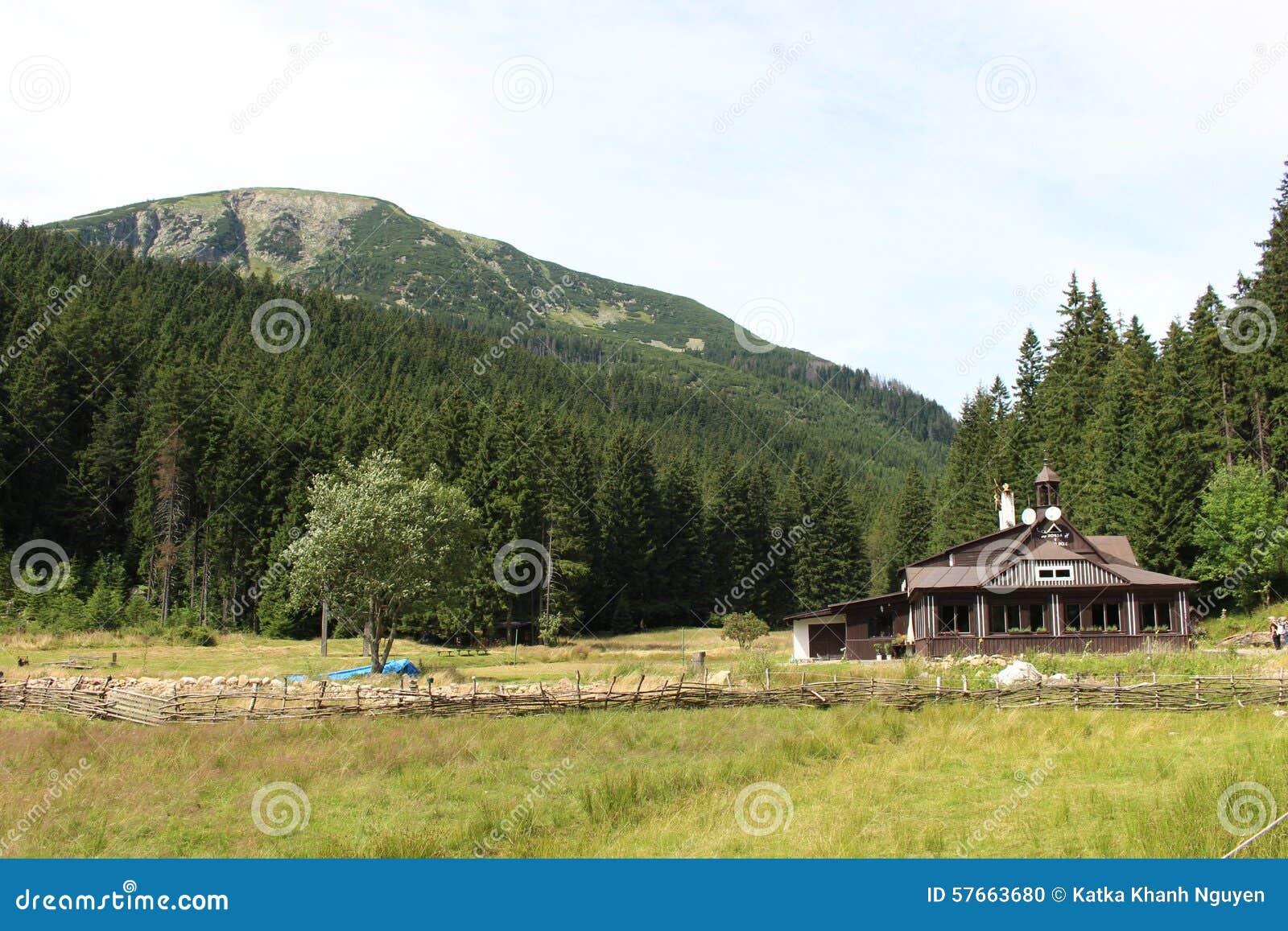 Natury góry chałupa