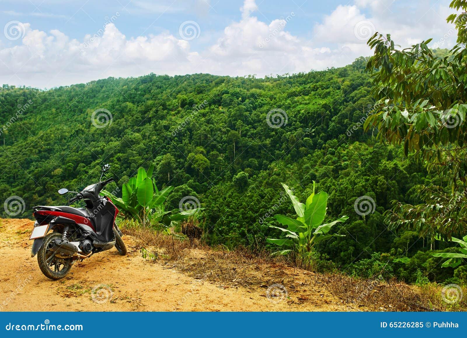 Natury krajobrazowy tło sceneria Podróż Tajlandia, Azja