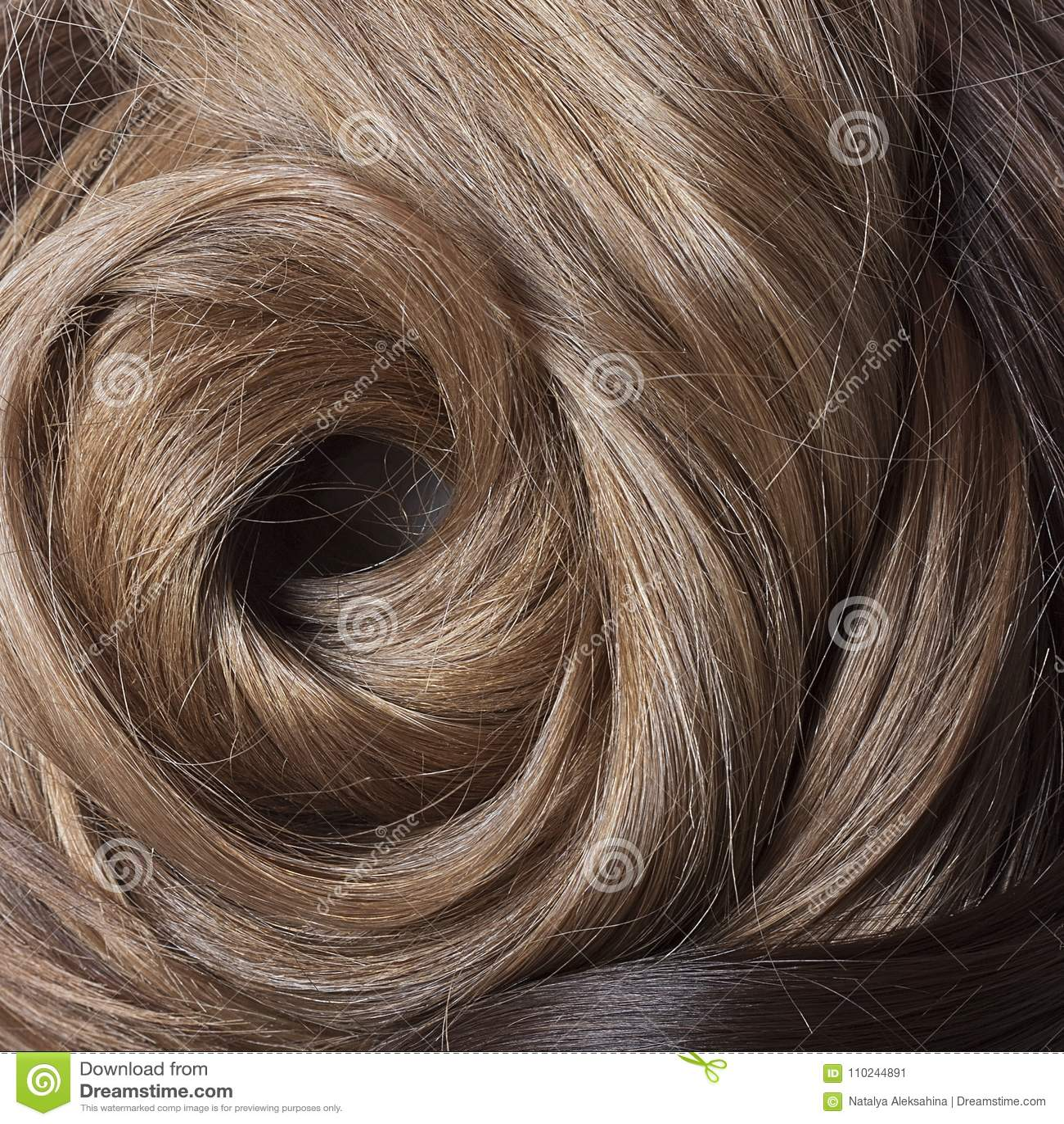 Natuurlijk menselijk haar