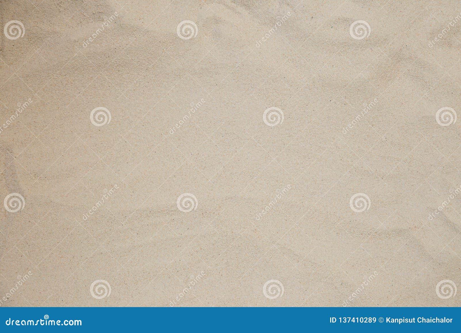 Natuurlijke de textuurachtergrond van de zandsteen Zand op het strand als achtergrond De concrete textuur van de kunstroom voor a