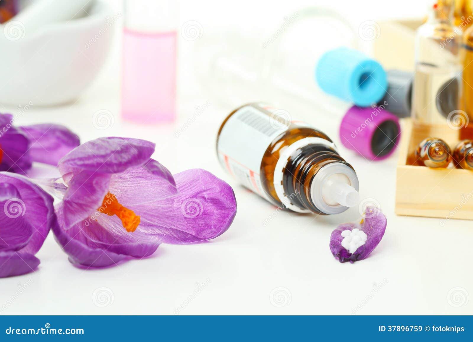 Natuurlijke geneeskunde, druppeltjes