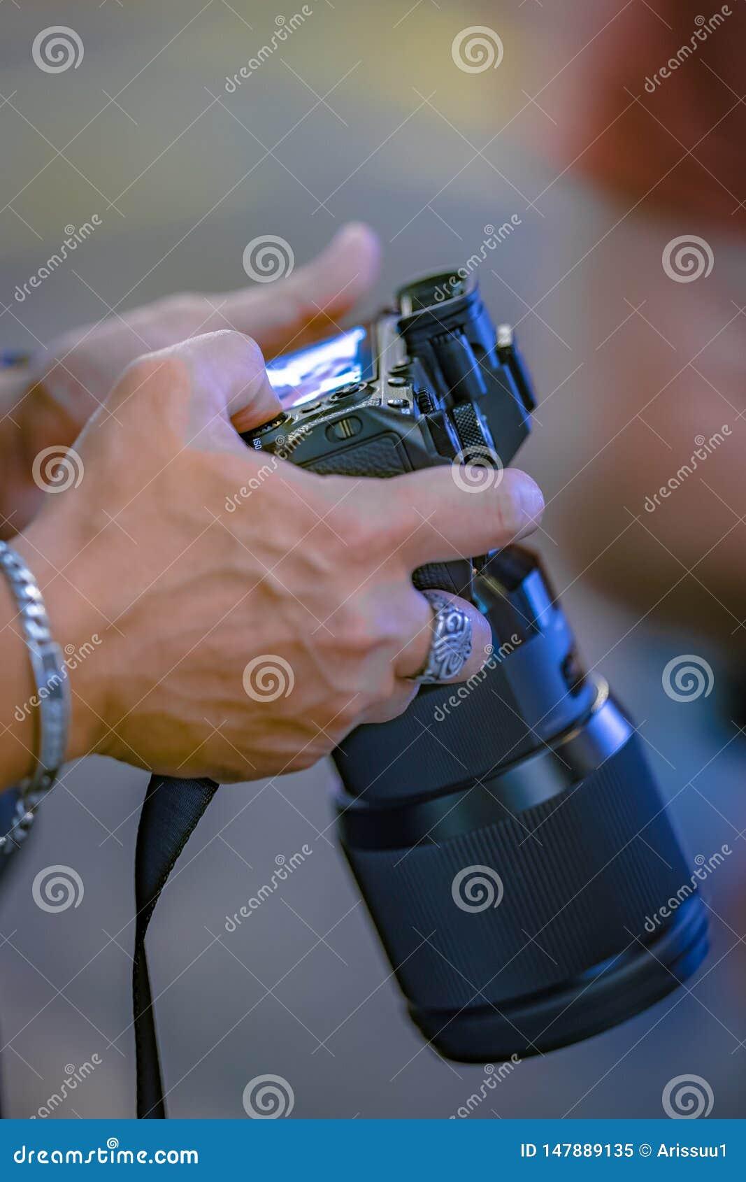 Natuurlijke Landschapsfotograaf Camera Setting
