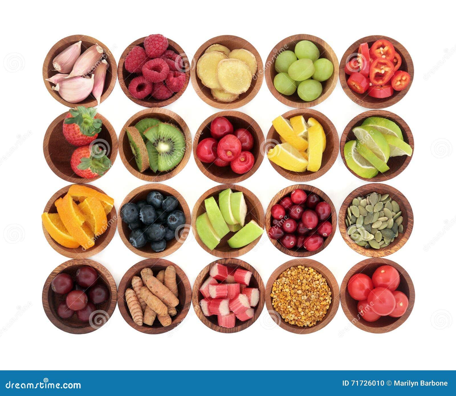 Natuurlijke voeding voor Koude Remedie