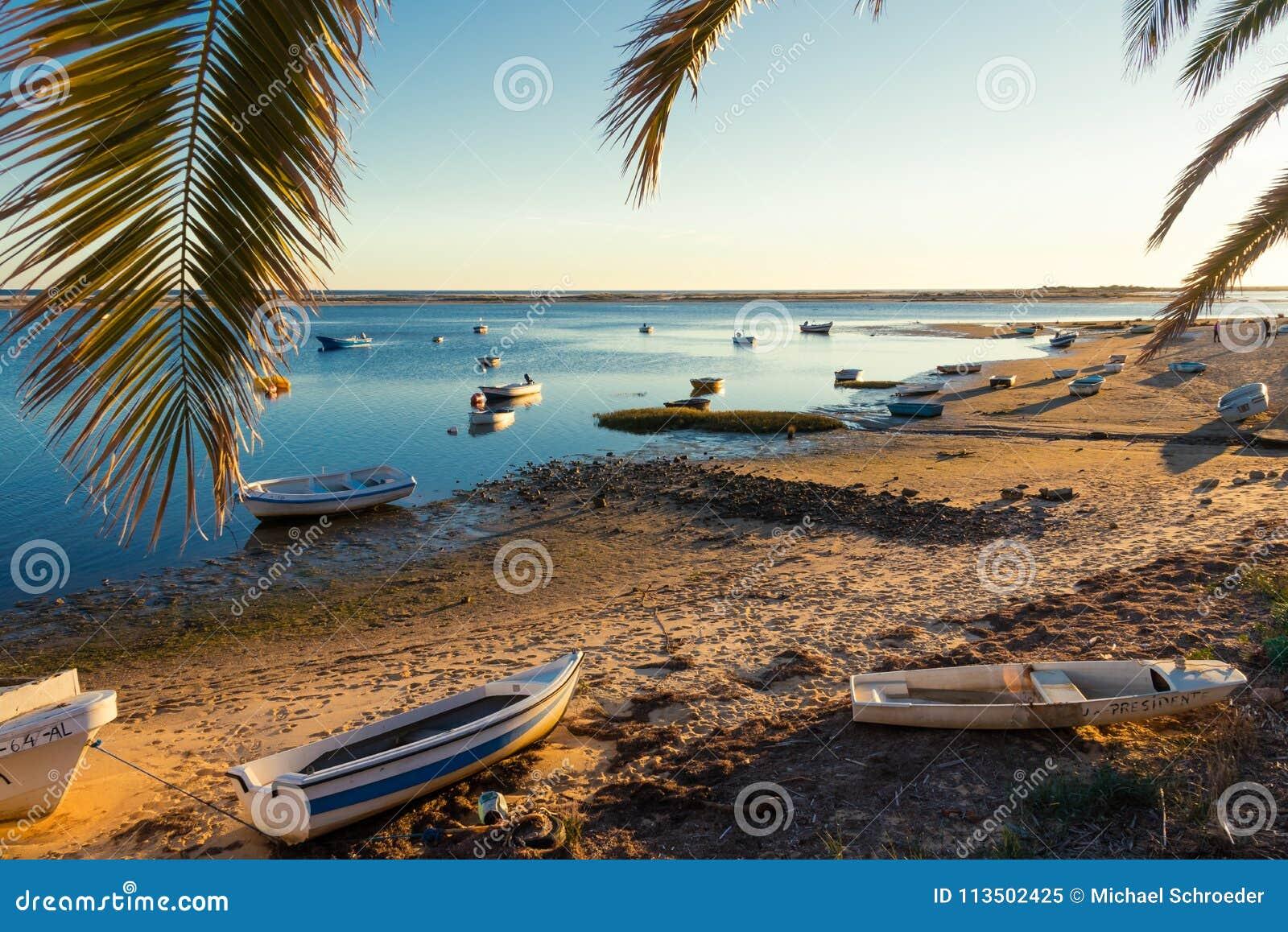Natuurreservaat Ria Formosa - Algarve - Portugal