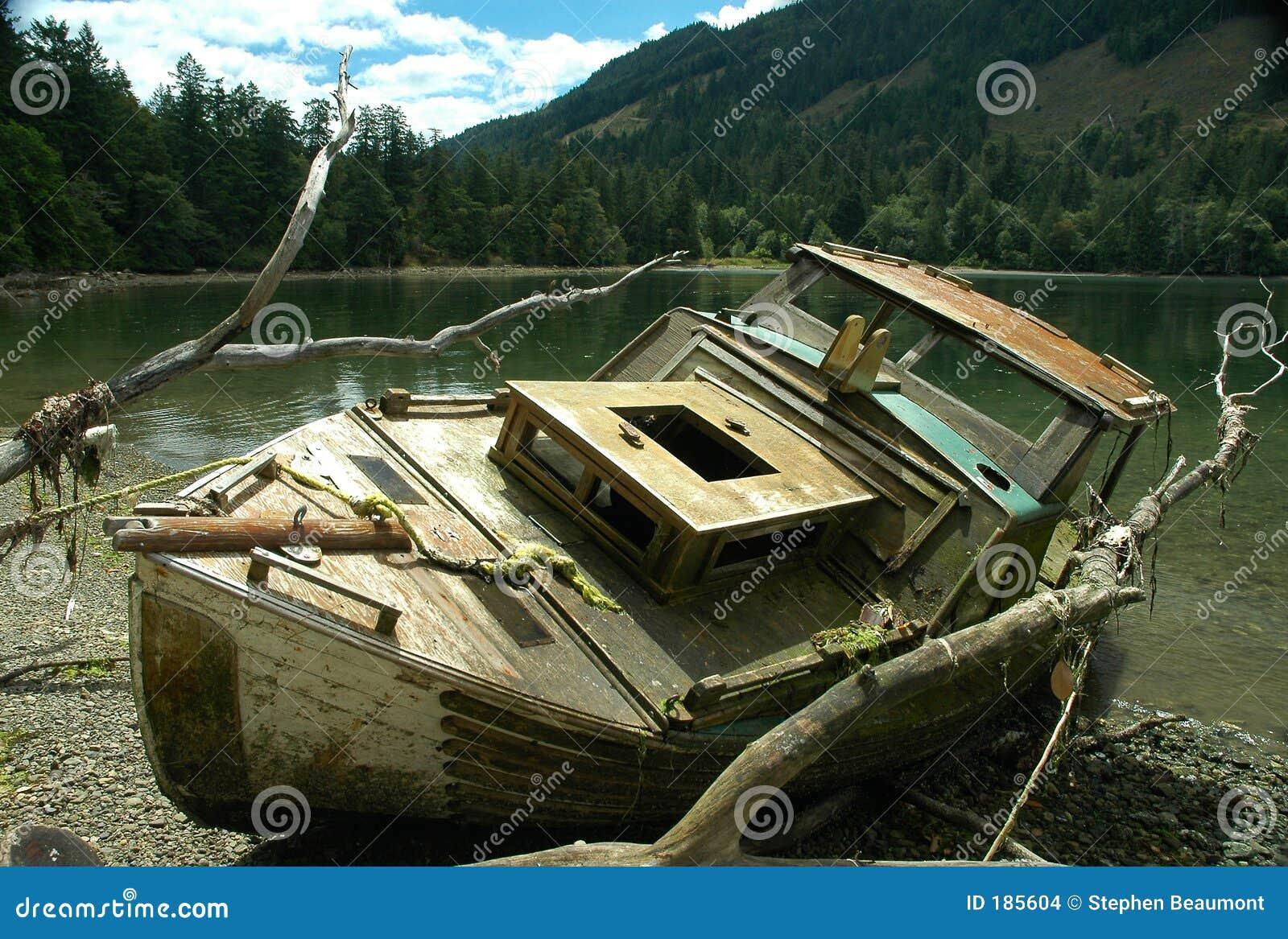 Naufragio della barca