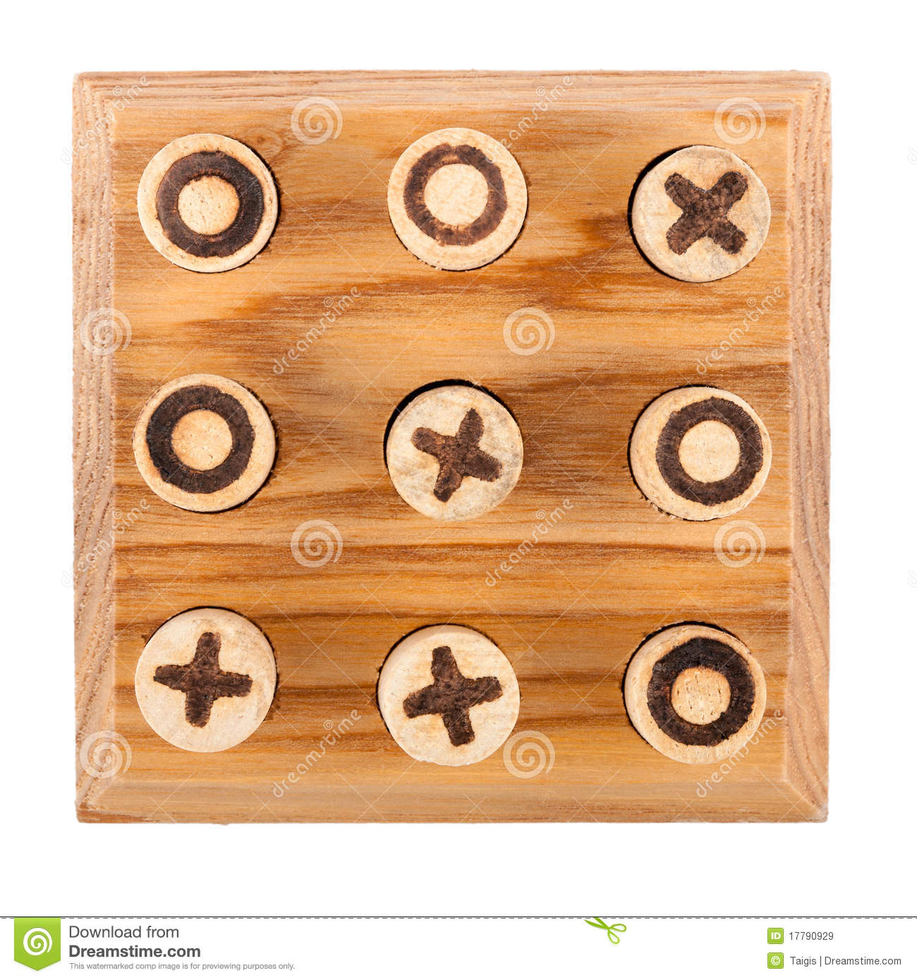 Naughts And Crosses Royalty Free Stock Images - Image: 17790929