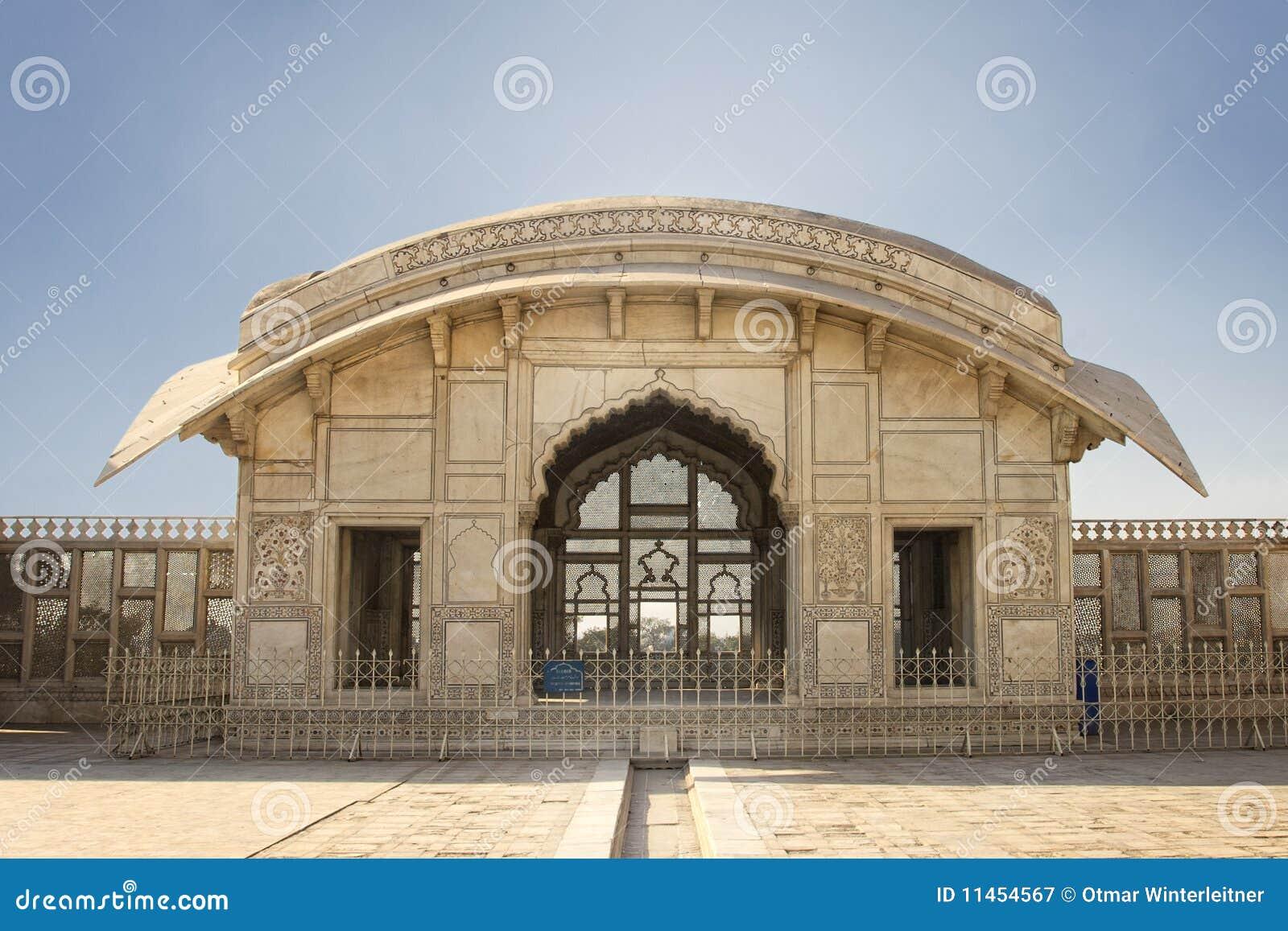 Naulakha Pavillion im Lahore-Fort
