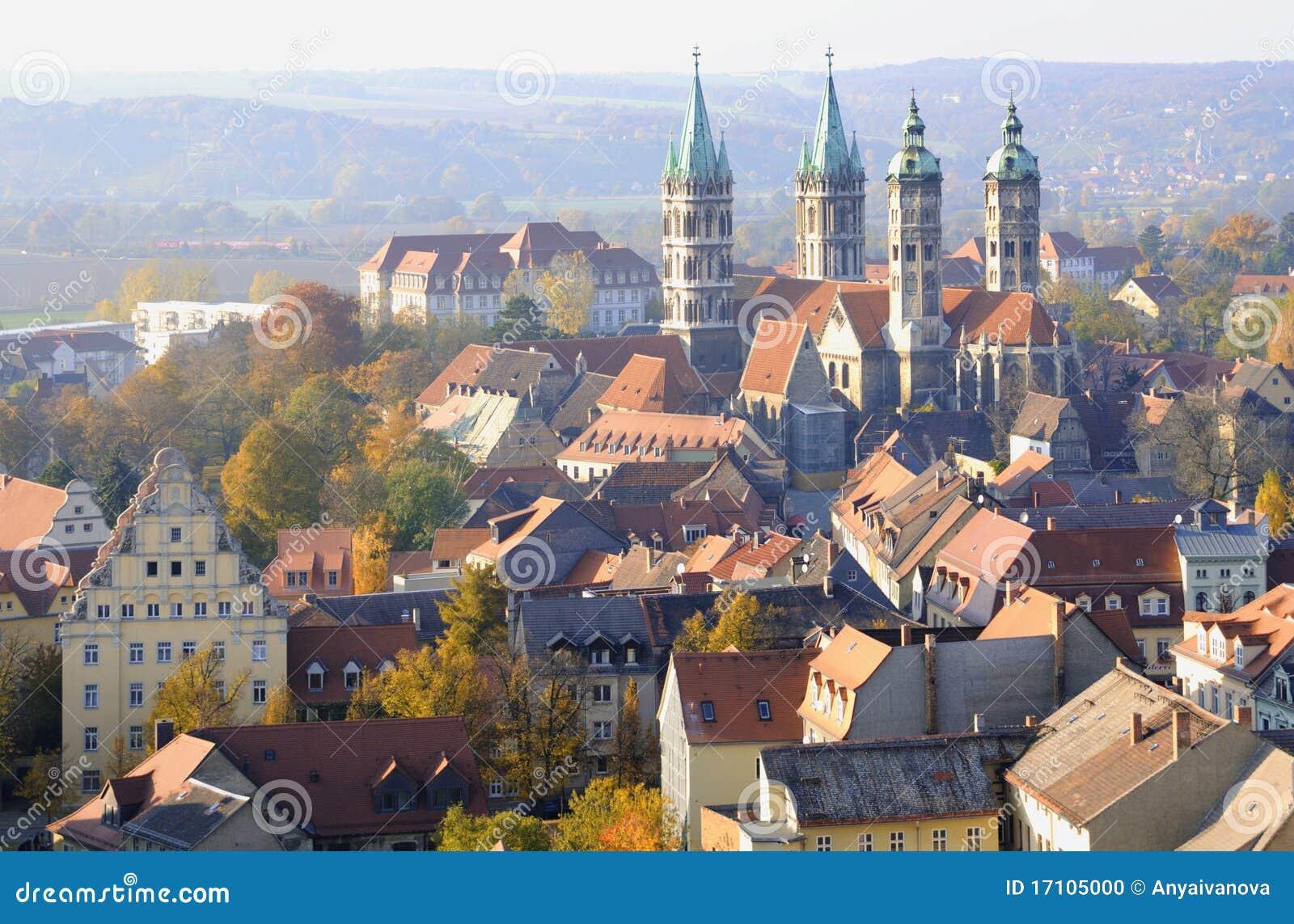 Naumburg Cathedral Saxony Anhalt Germany Stock Photo