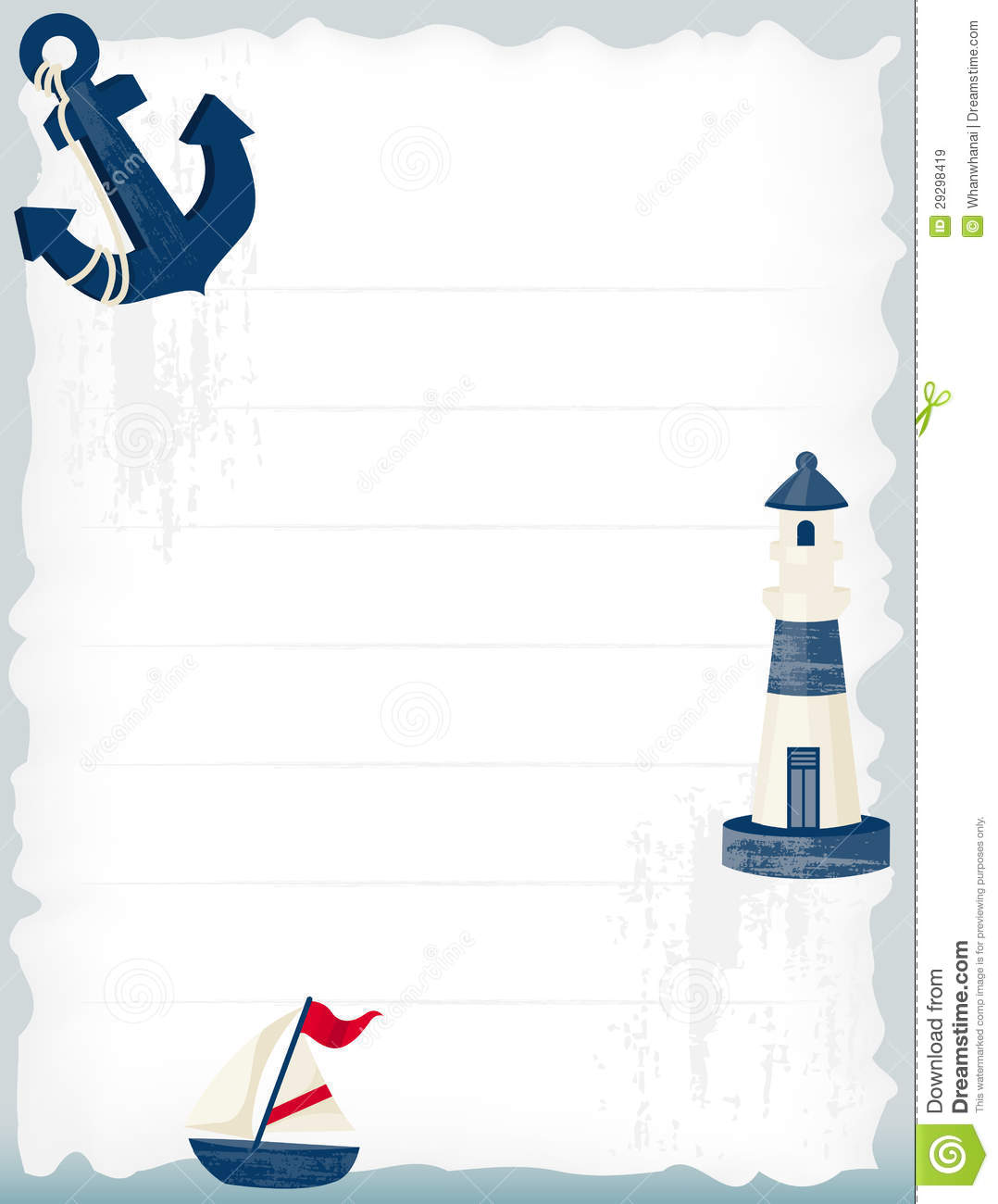 Nautical background stock vector. Illustration of ...