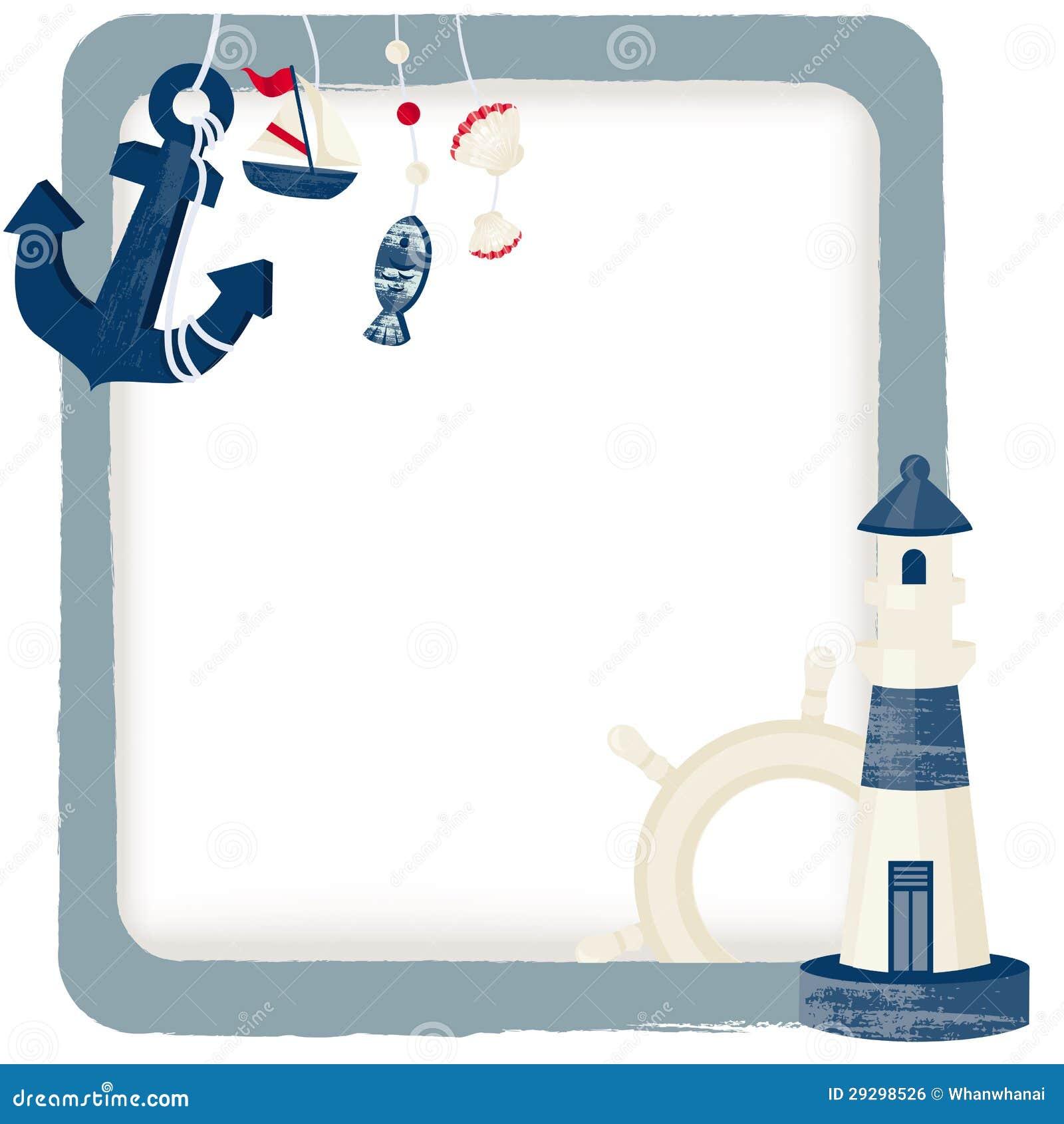 Nautical Background Royalty Free Stock Image - Image: 29298526