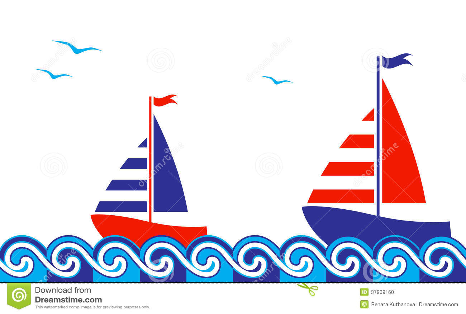 Nautical Border Stock Photo - Image: 37909160
