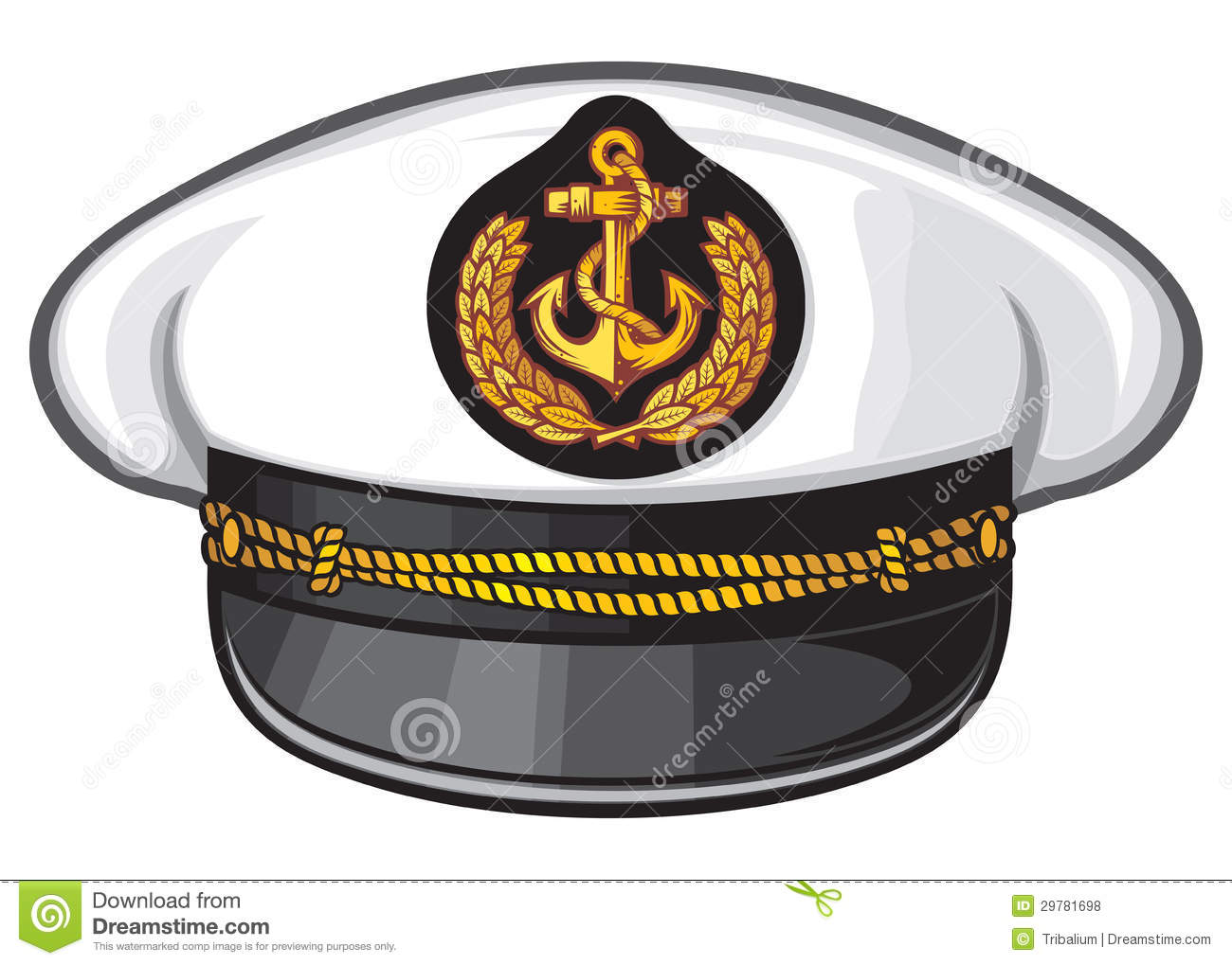c50c3a57639 Captain hat stock vector. Illustration of master