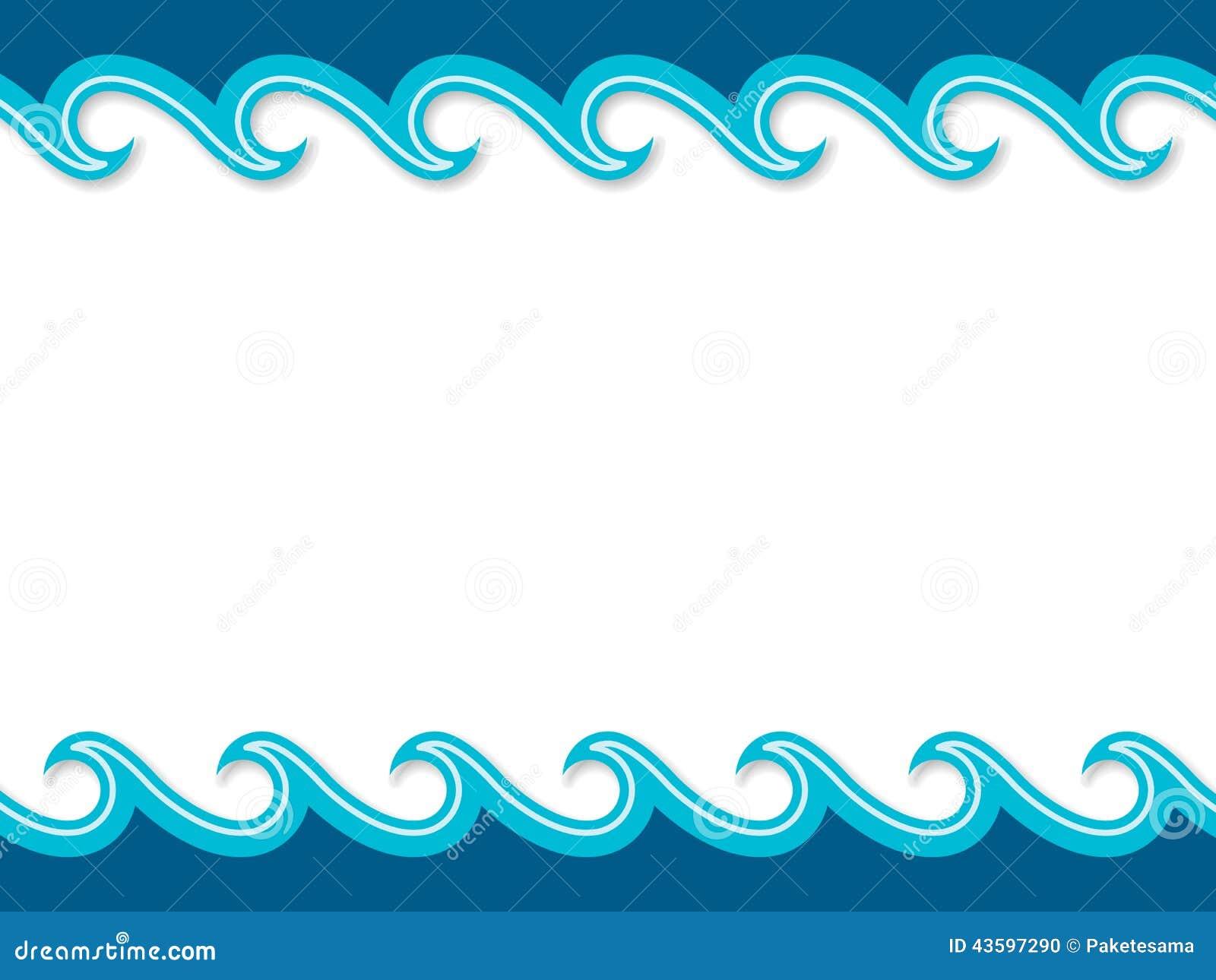 Nautical Cartoon Scenery Stock Vector Image Of Summer