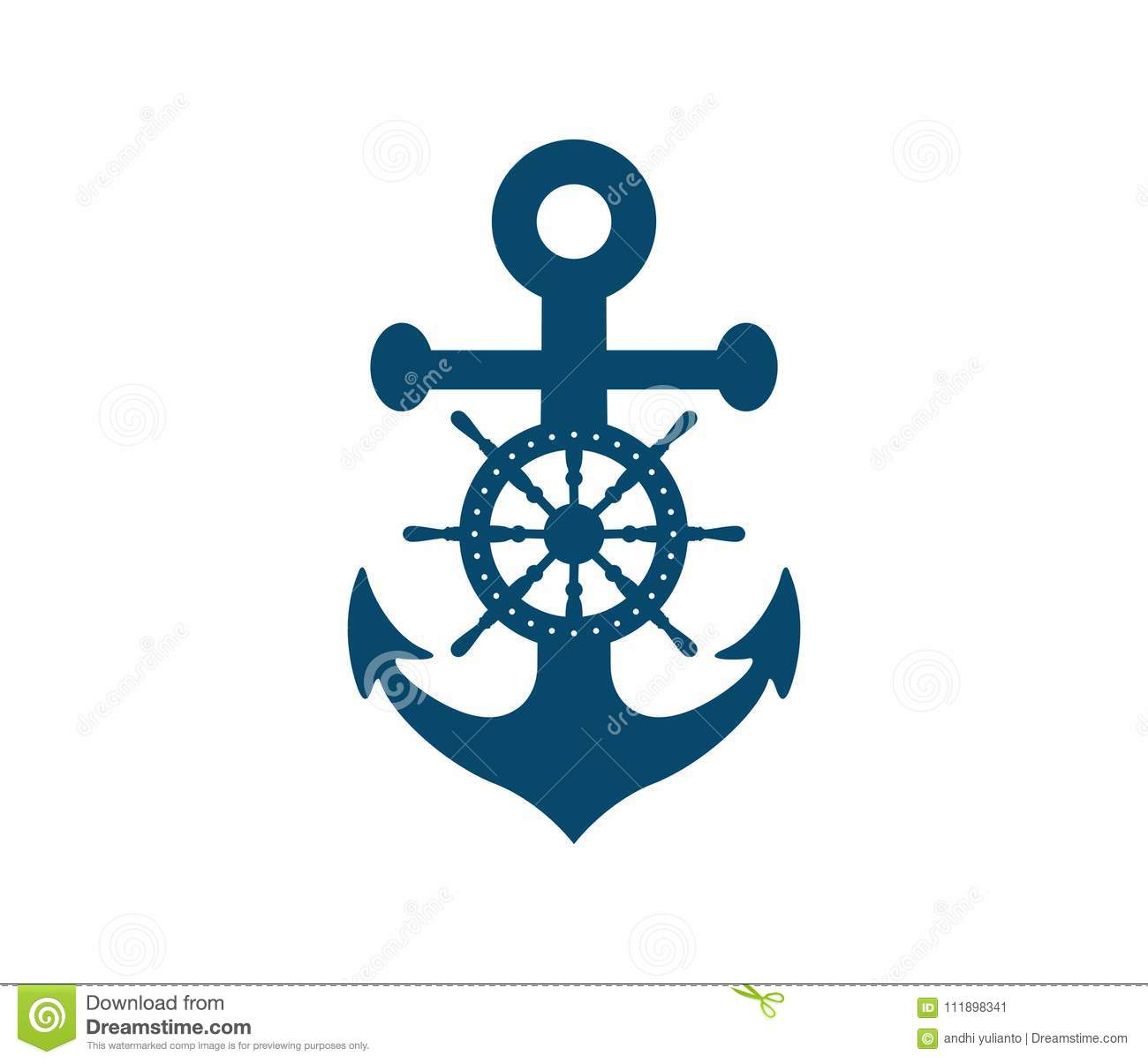 Navy logo anchor