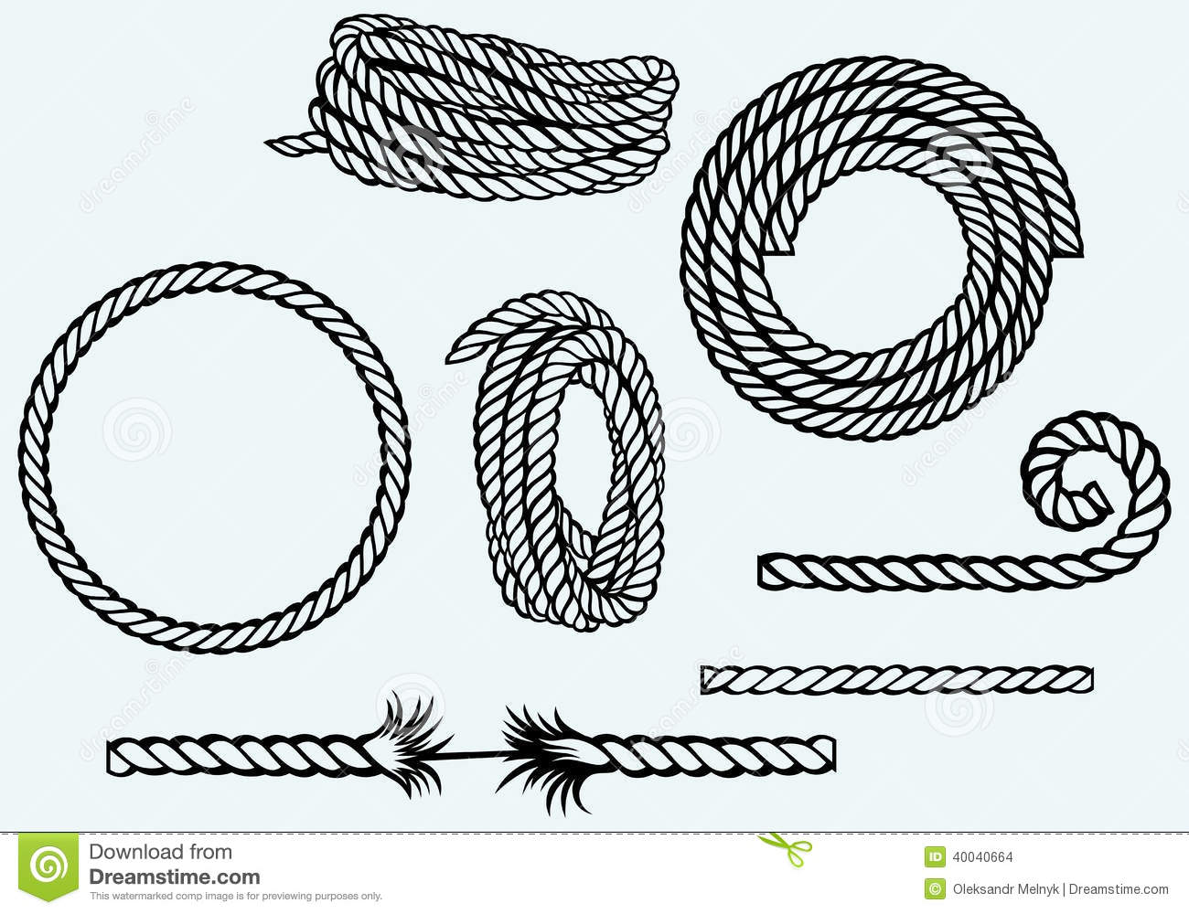 Nautical Rope Knot Graphic
