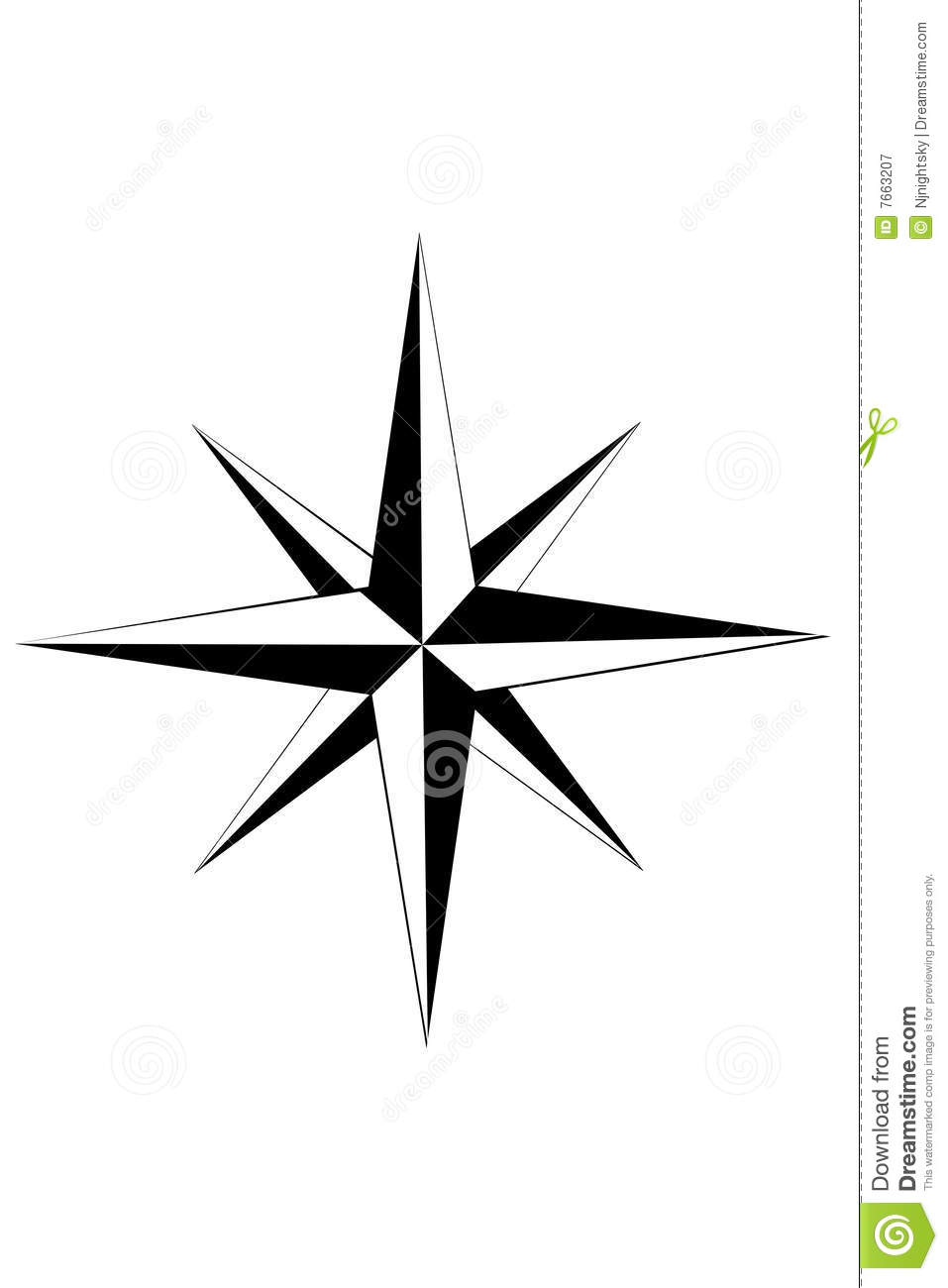 Nautical Star Royalty Free Stock Photography - Image: 7663207