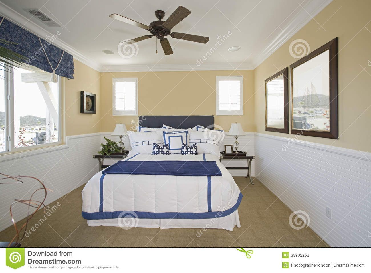 Nautical Themed Bedroom Furniture Nautical Themed Bedroom Stock Photography Image 33902252