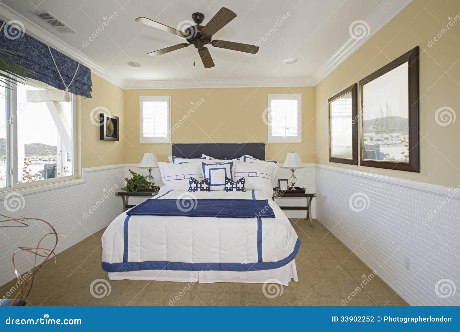 Nautical Themed Bedroom Stock Photography - Image: 33902252