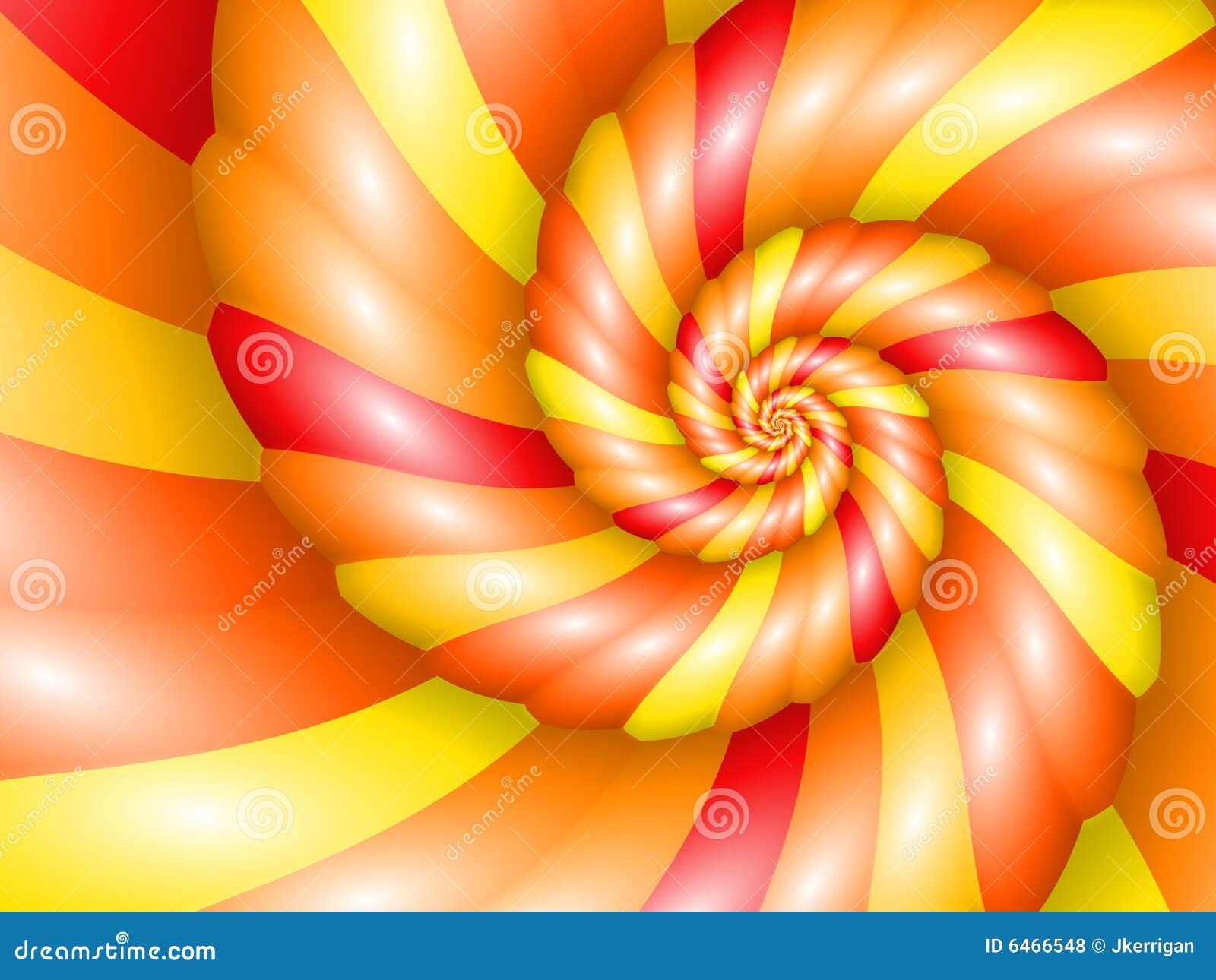 Nautilus spirala ciepła