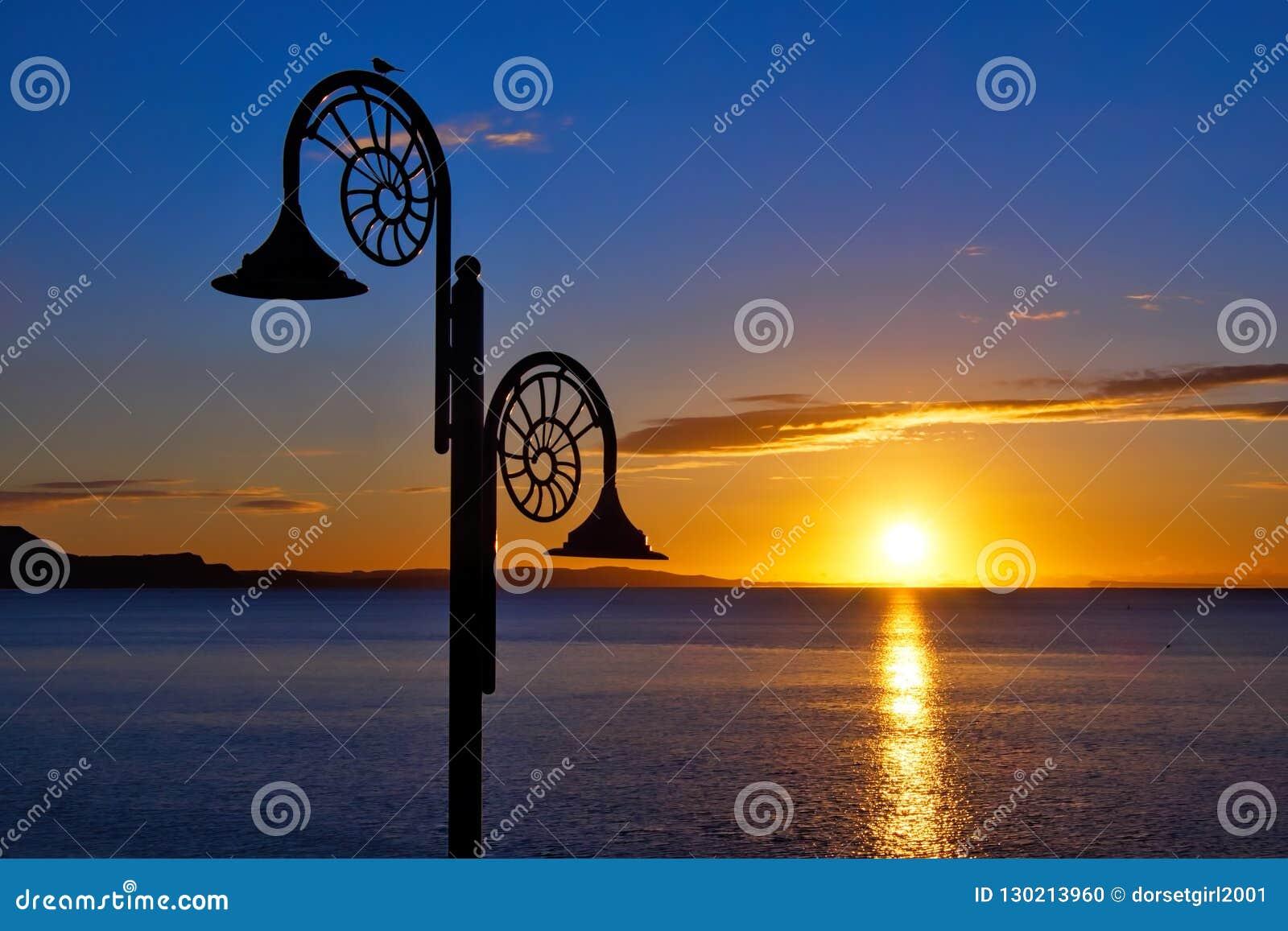 Nautilus Sunrise At Lyme Regis