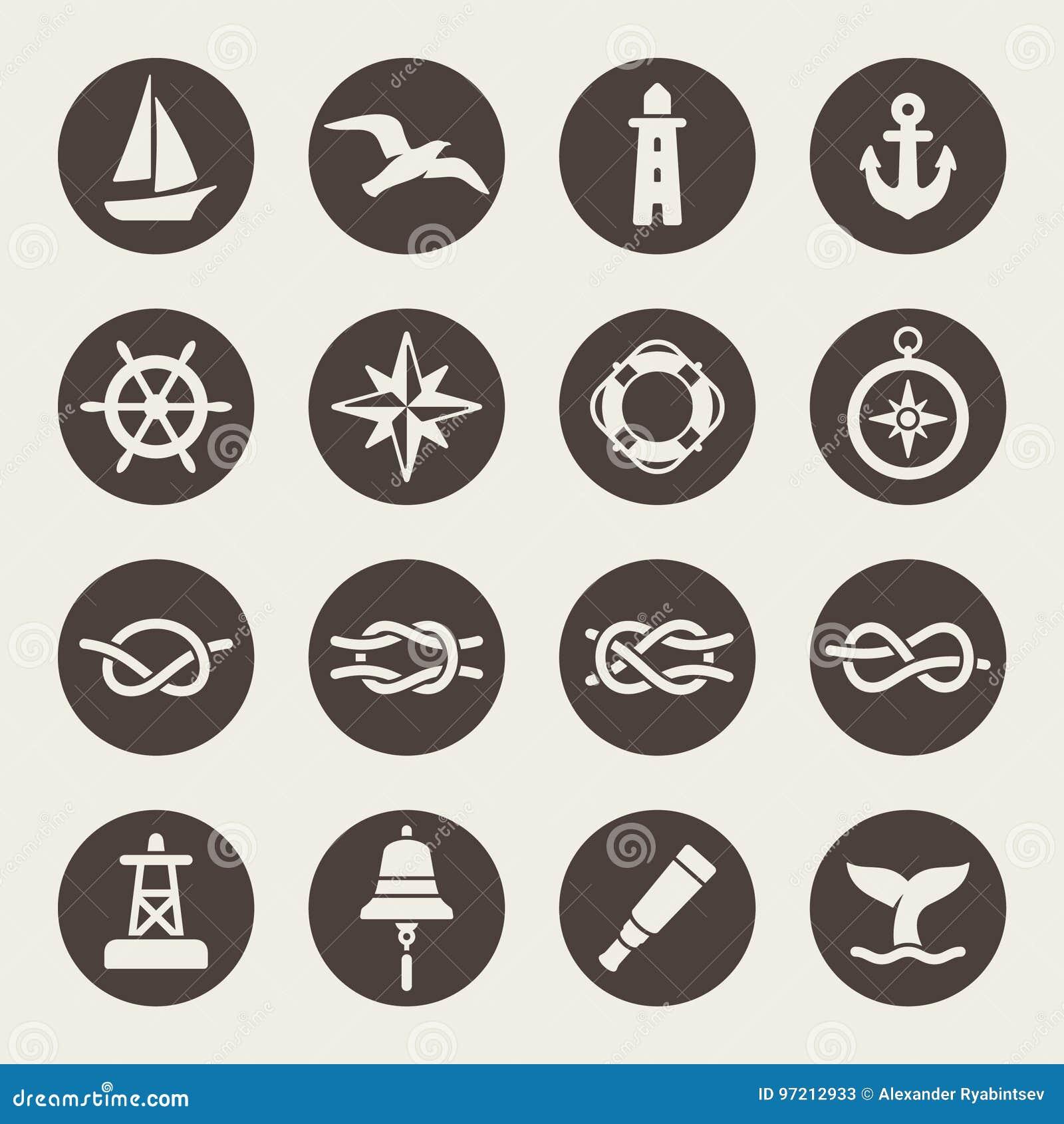 Nautisk symbolsuppsättning