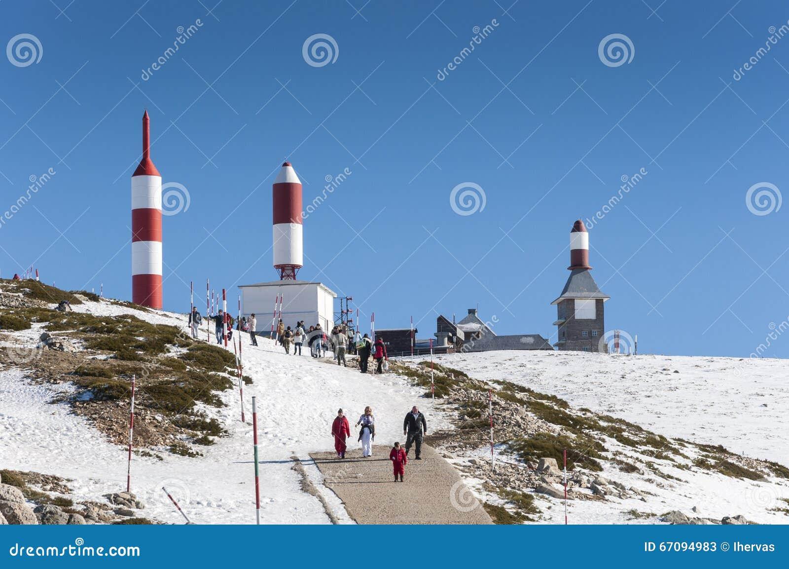 Navacerrada Ski Resort Foto de Stock Editorial - Imagem ...