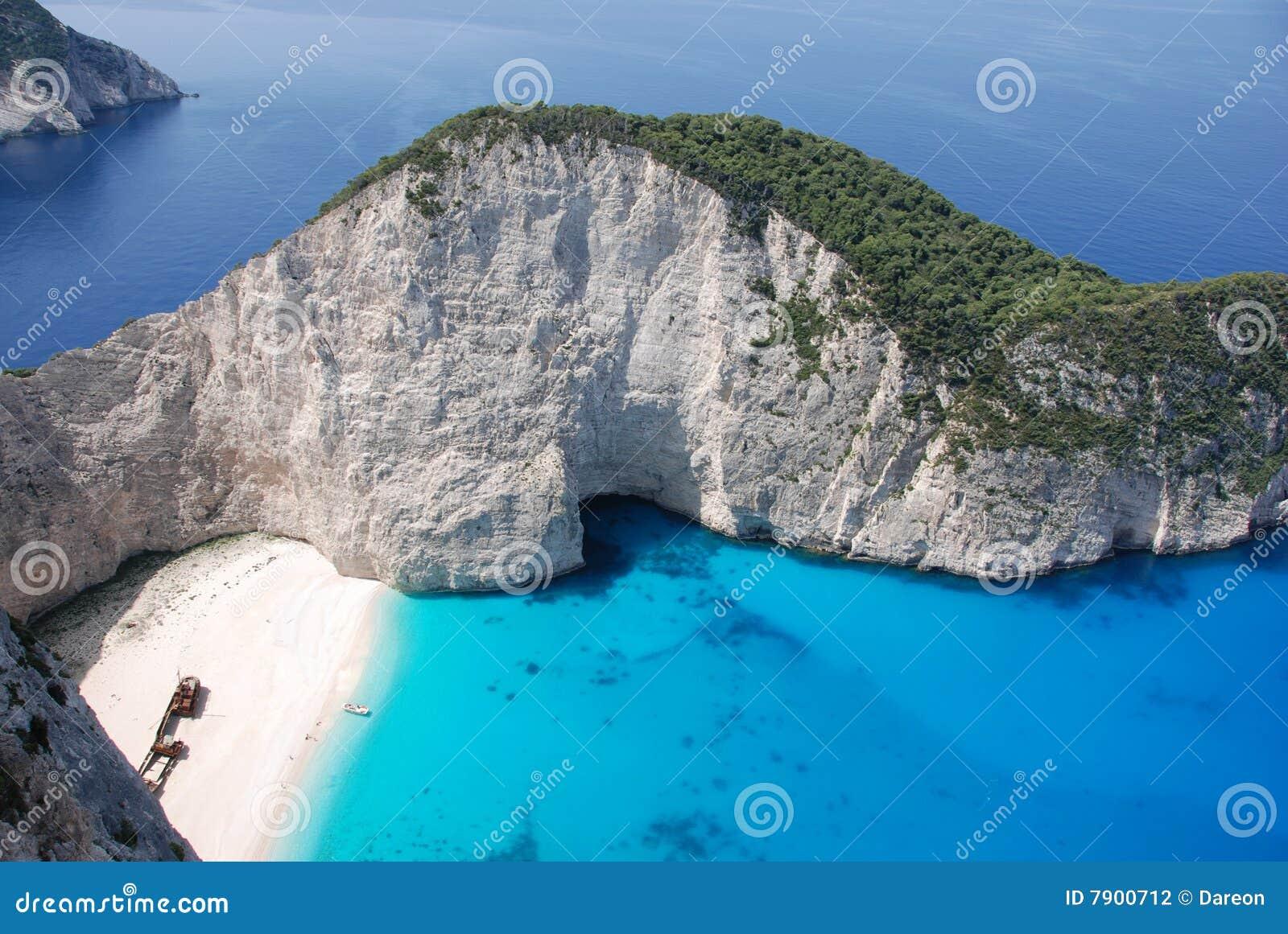 Navagio Bay on Zakynthos island
