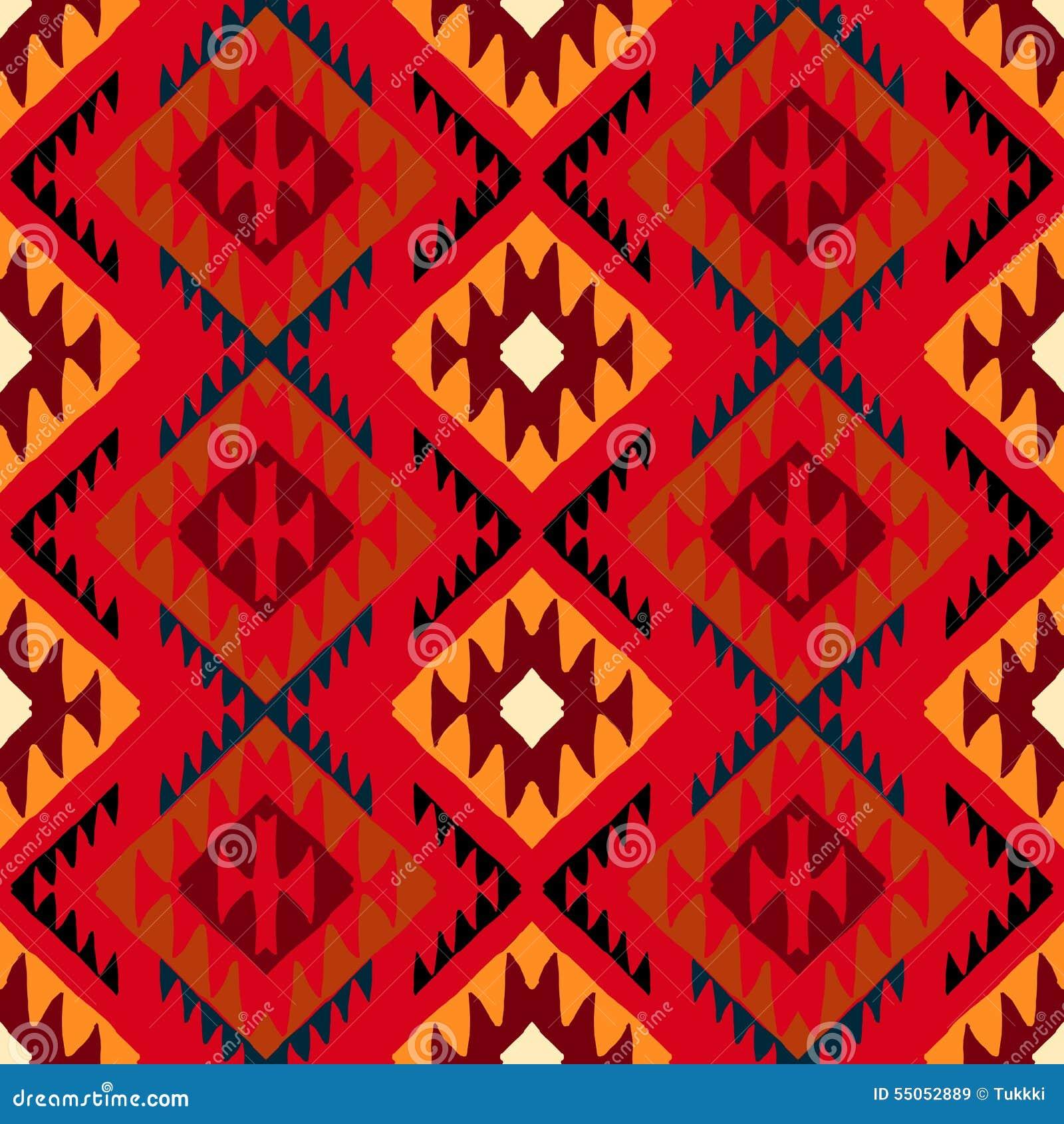 Navajo plemienny ornament